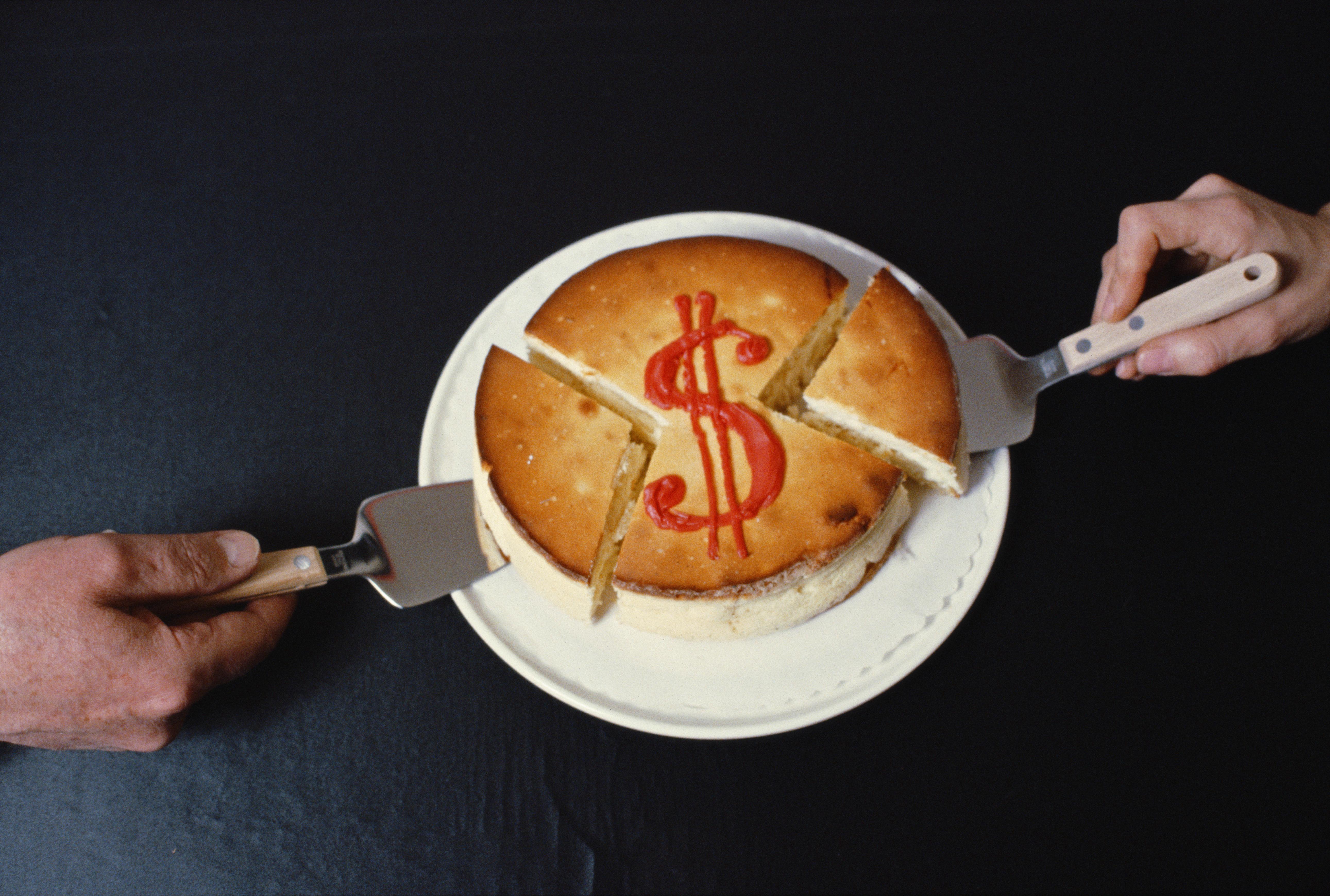 Dollar Cake