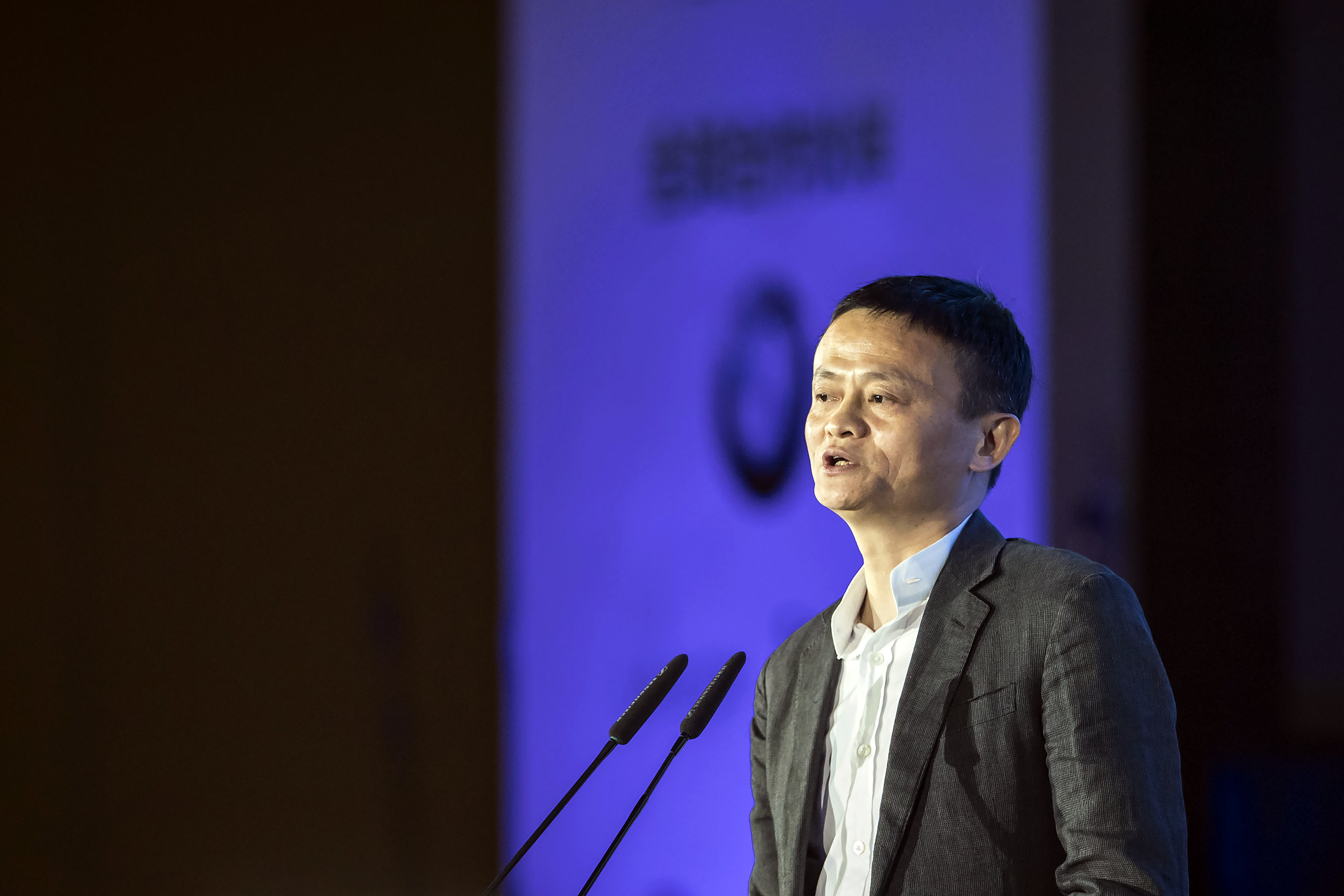 Billionaire Jack Ma Speaks At The China Green Companies Summit