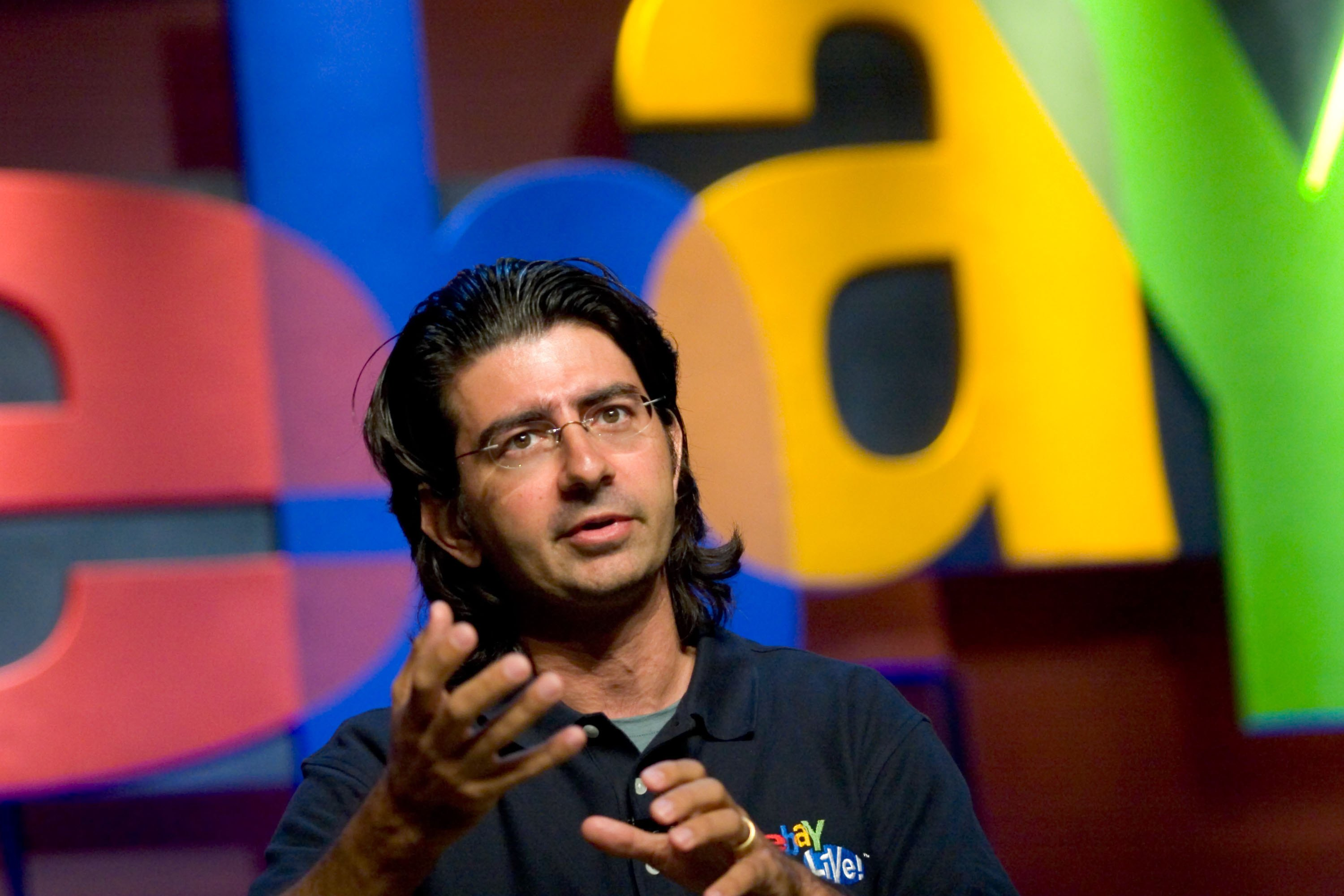 Pierre Omidyar, founder and chairman