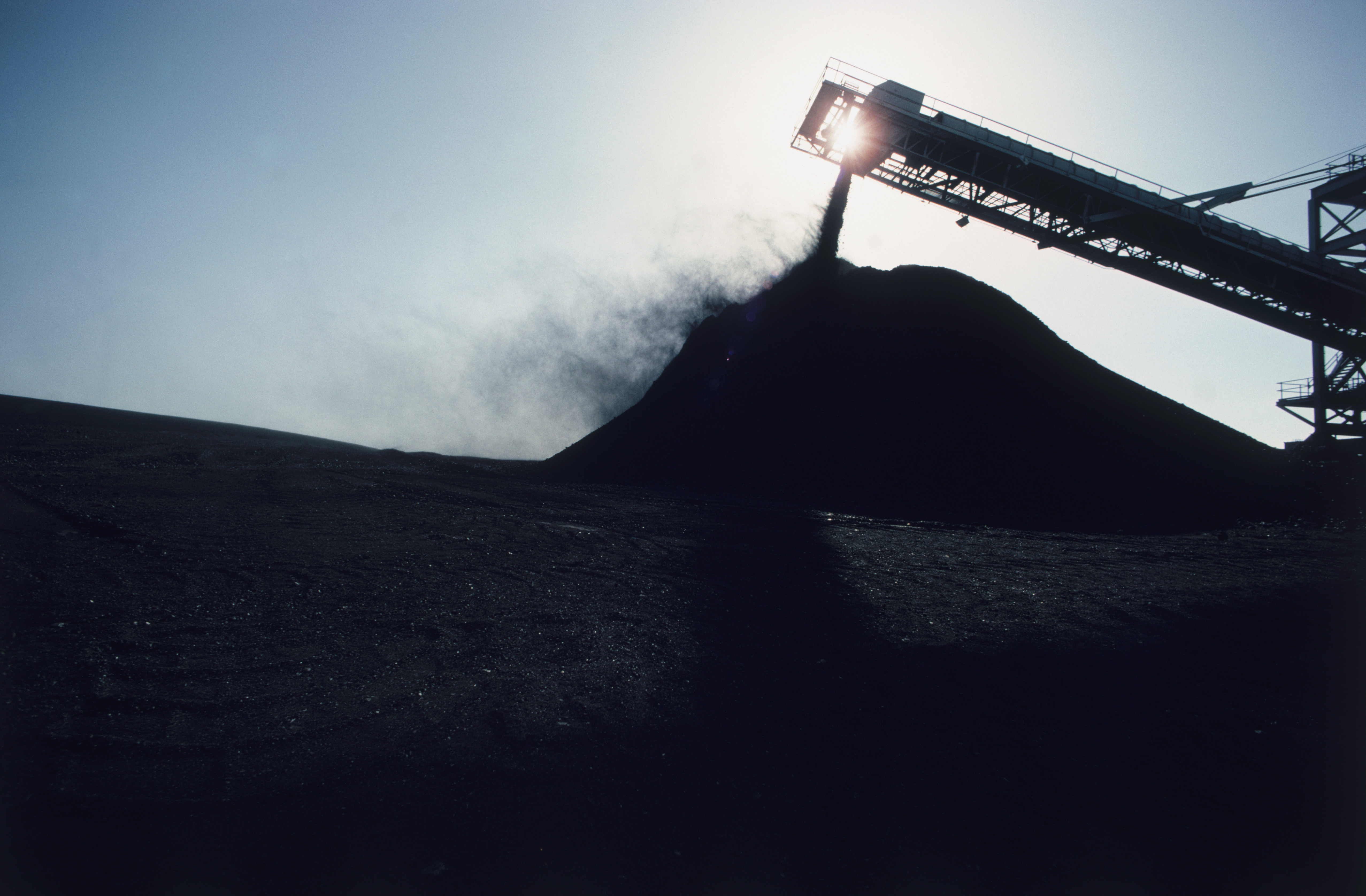 The increase in coal output should start to boost employment.
