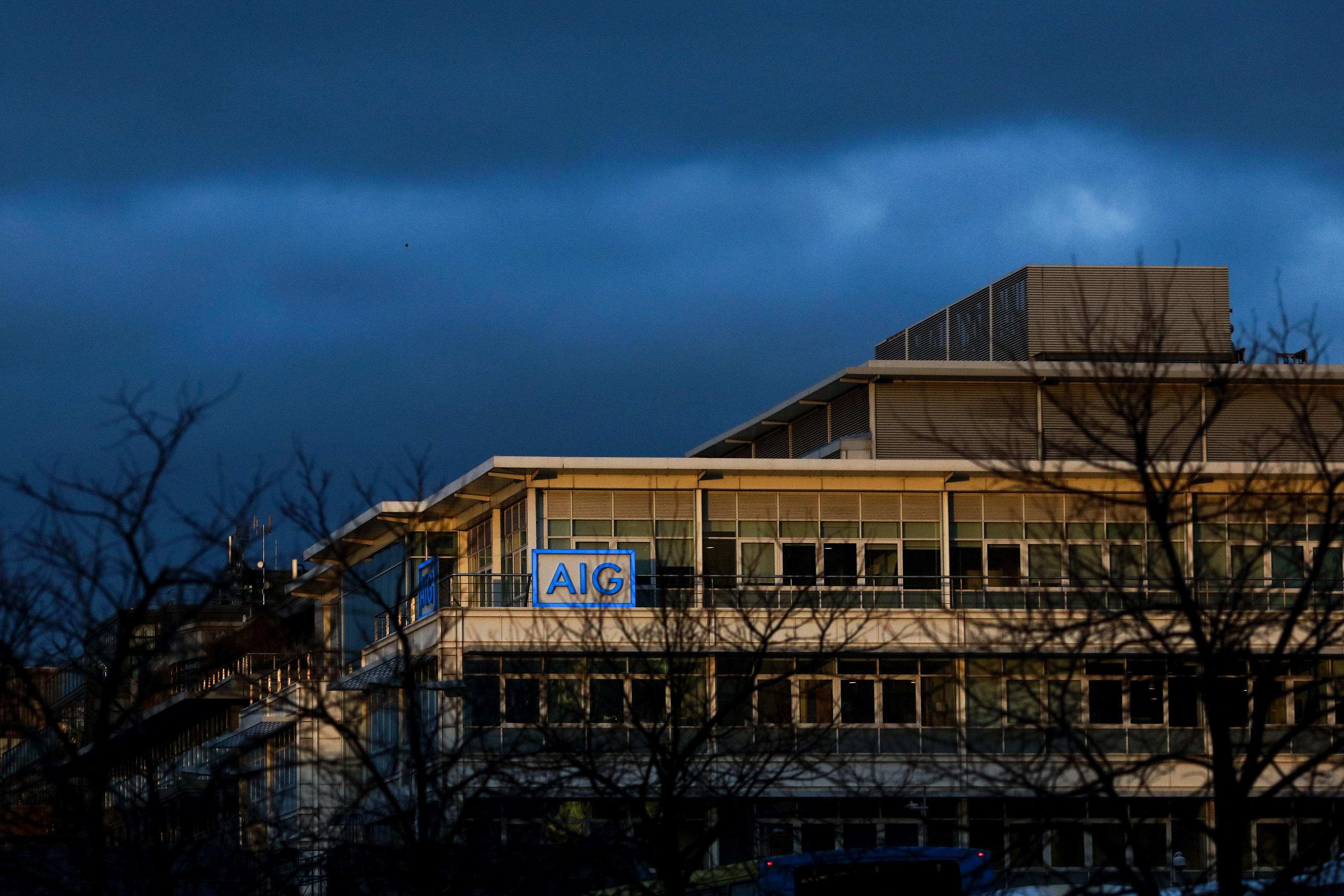 The American International Group (AIG) Inc. offices in Dublin, Ireland, on Thursday, Nov. 24, 2016.
