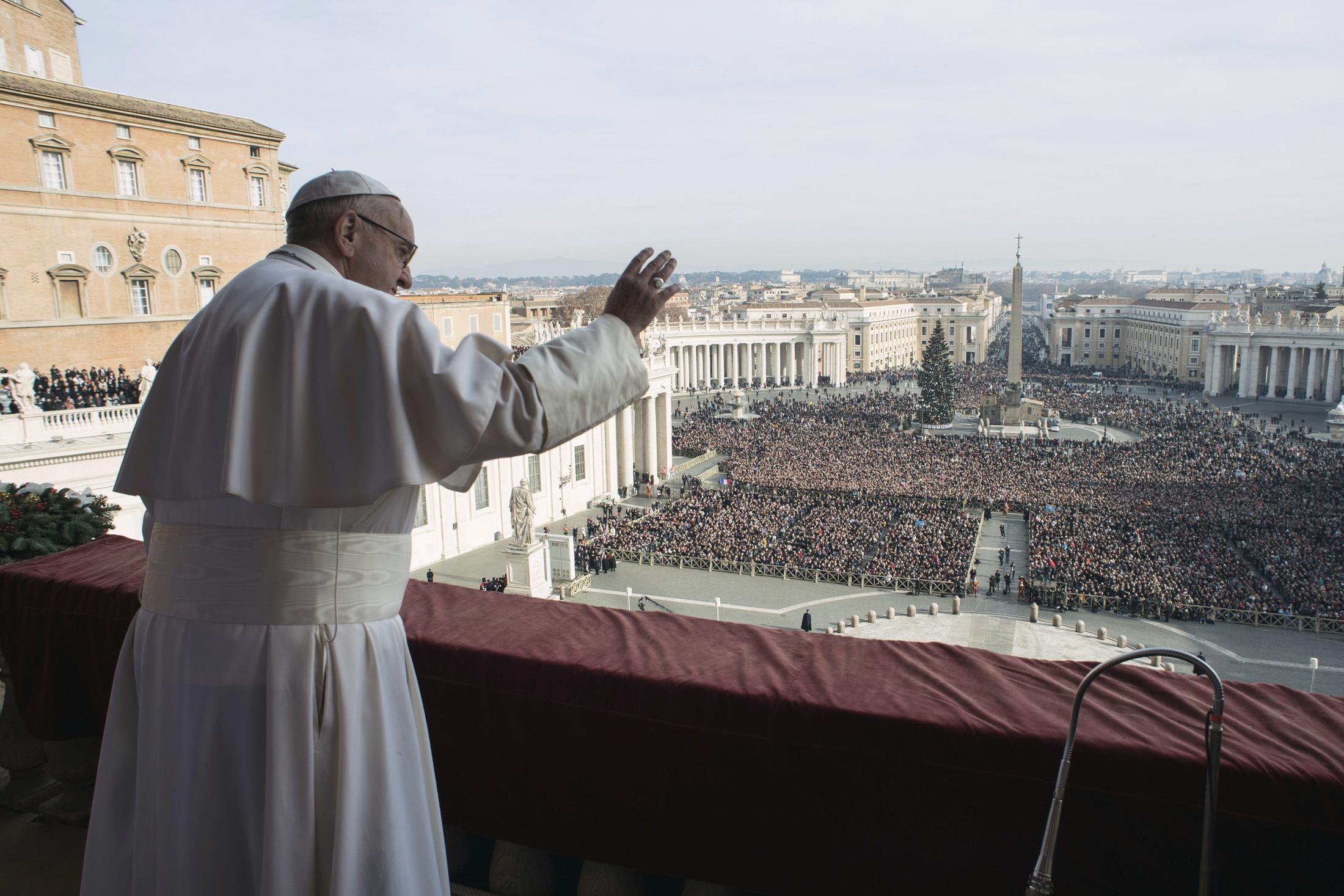 Pope Francis Christmas Urbi Et Orbi Message - Vatican