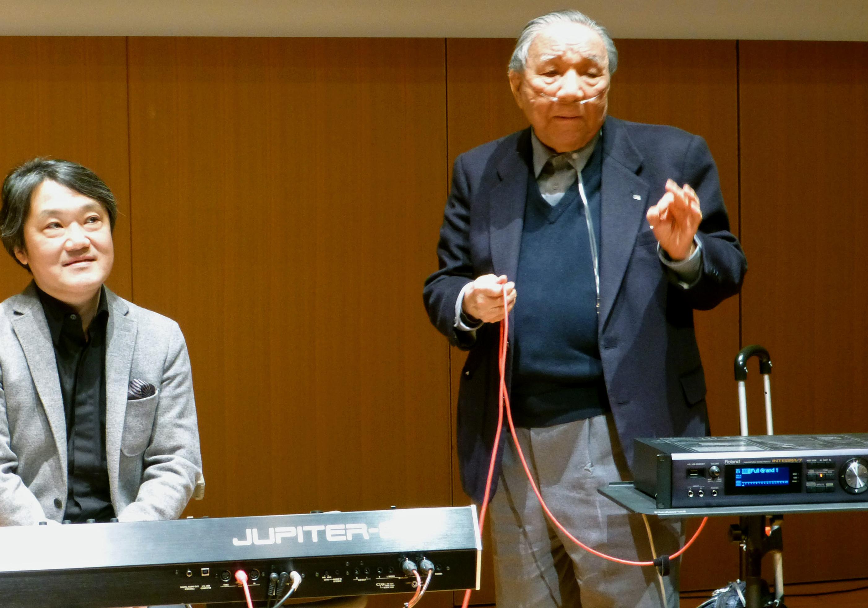Japan Obit Roland Founder