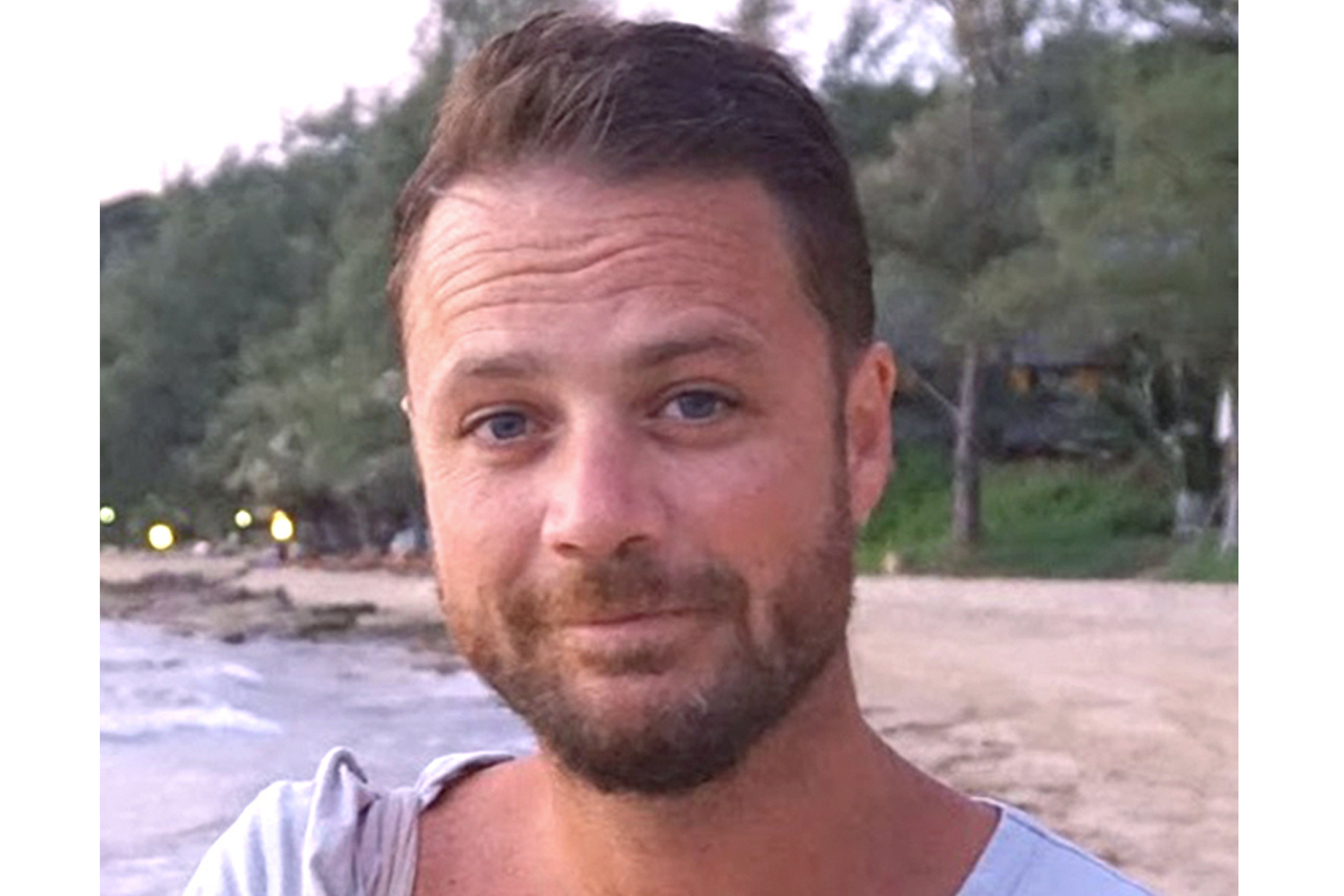 In this undated image released Sunday April 9, 2017, by the British Foreign And Commonwealth Office, of British man Chris Bevington who is confirmed among the dead in the recent Stockholm truck attack.