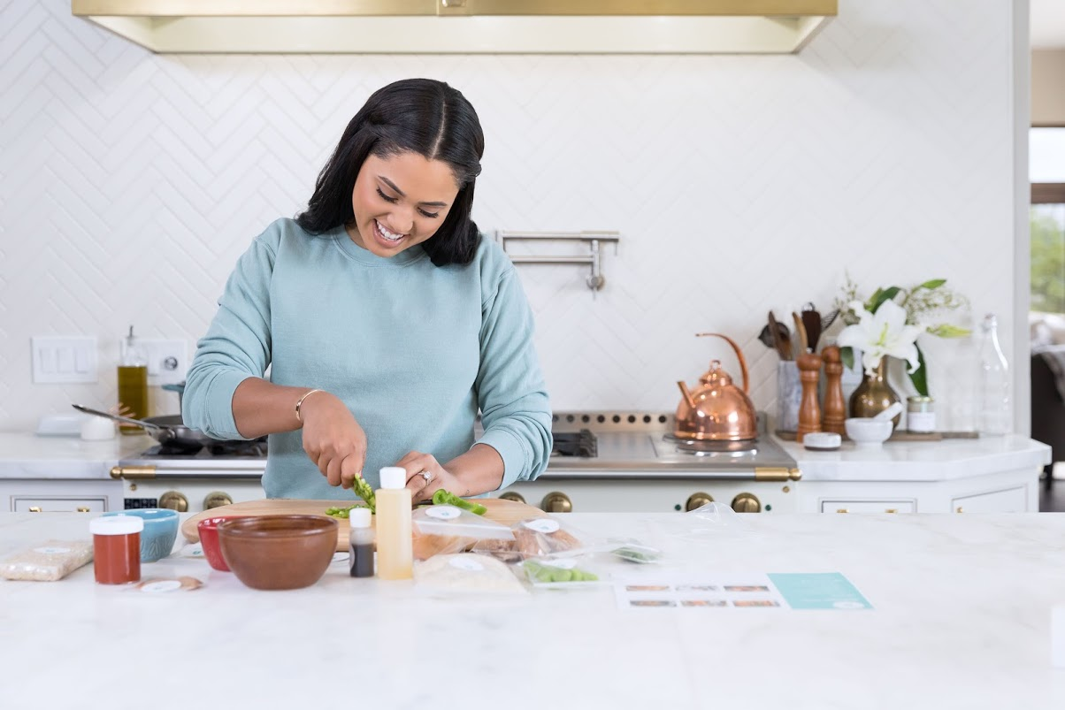 Cookbook author and Food Network personality Ayesha Curry is launching a new meal-kit delivery service, Homemade.