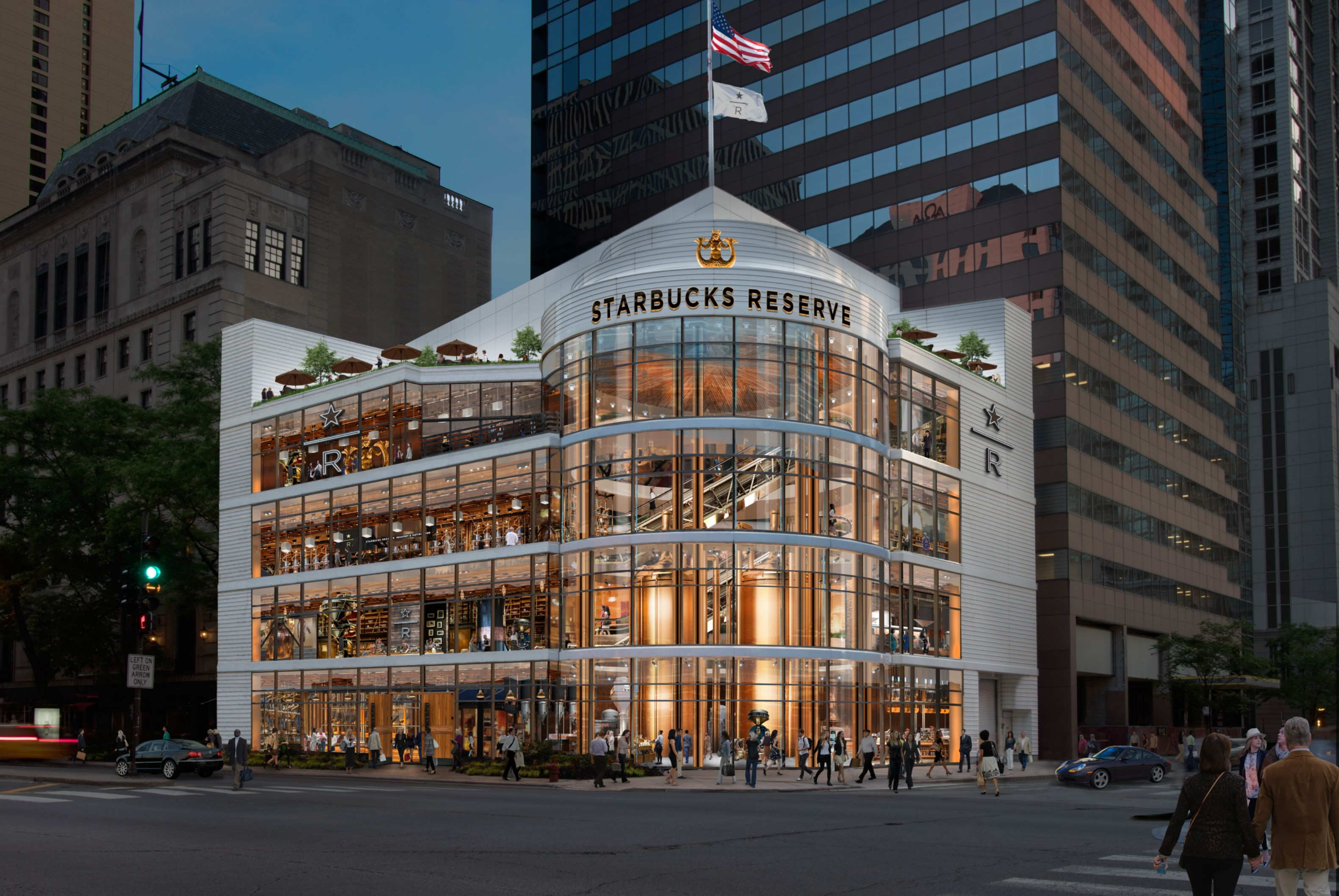 Starbucks said it will open a Starbucks Reserve Roastery in Chicago in 2019. It will be the third location in the U.S., joining a massive location in Seattle and one that is set to open in New York City in 2018.