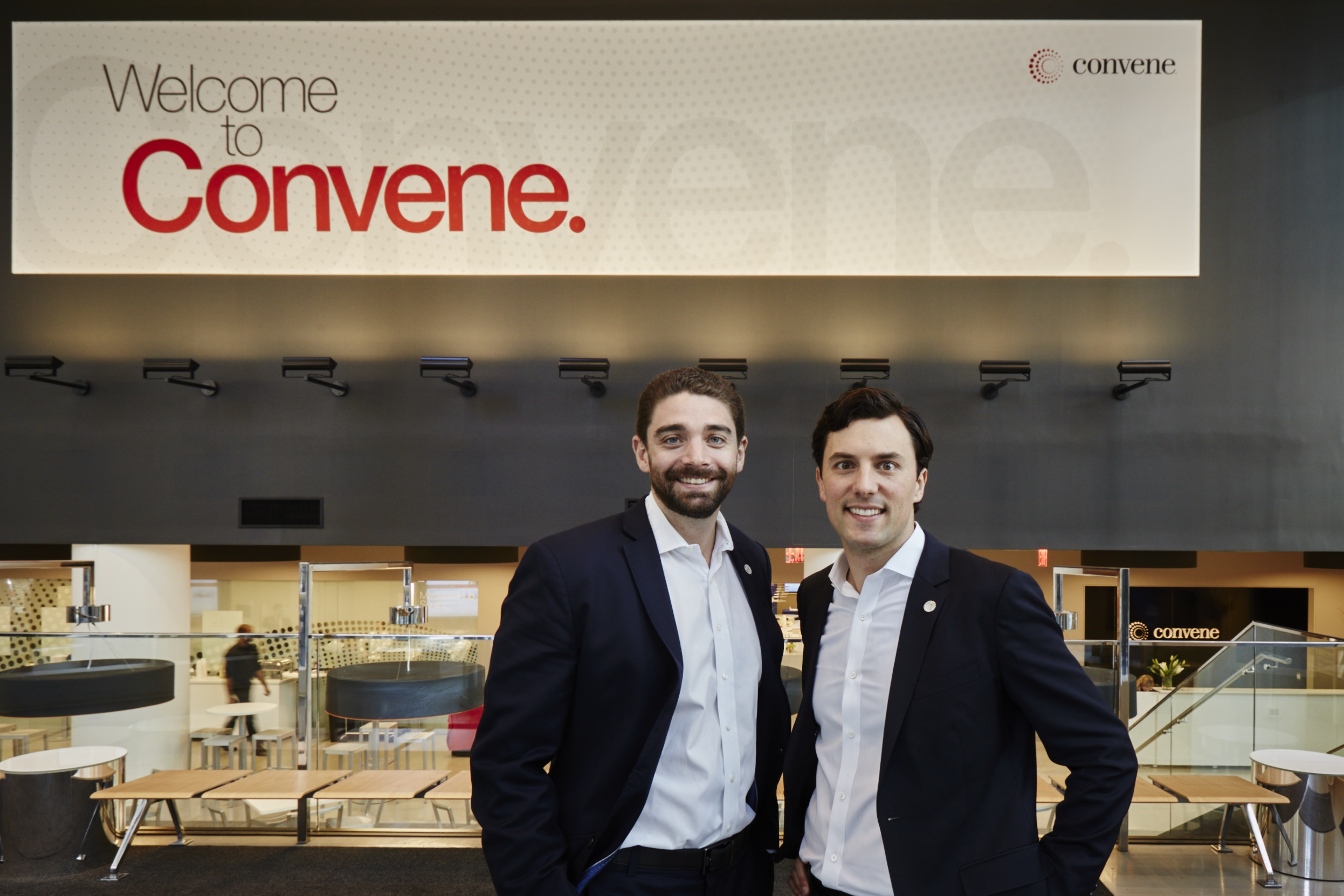 Ryan Simonetti, Co-Founder and CEO of Convene, and Chris Kelly, Co-Founder and Chief Development Officer of Convene