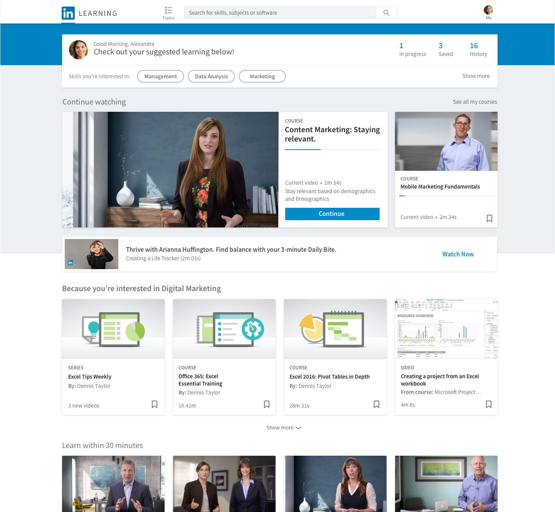 Arianna Huffington's Thrive Global, LinkedIn Team for