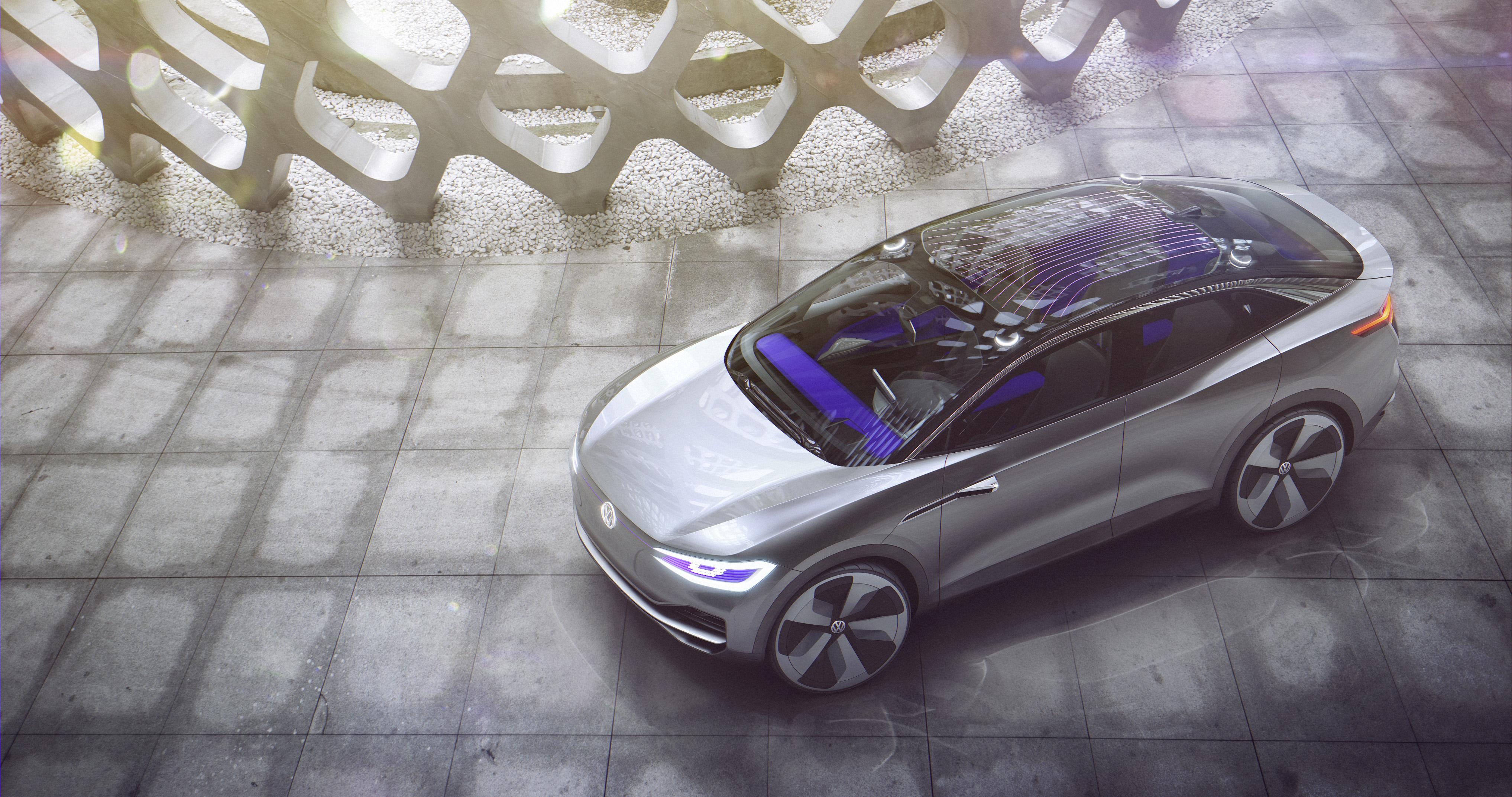 Volkswagen Unveils Electric Crossover | Fortune