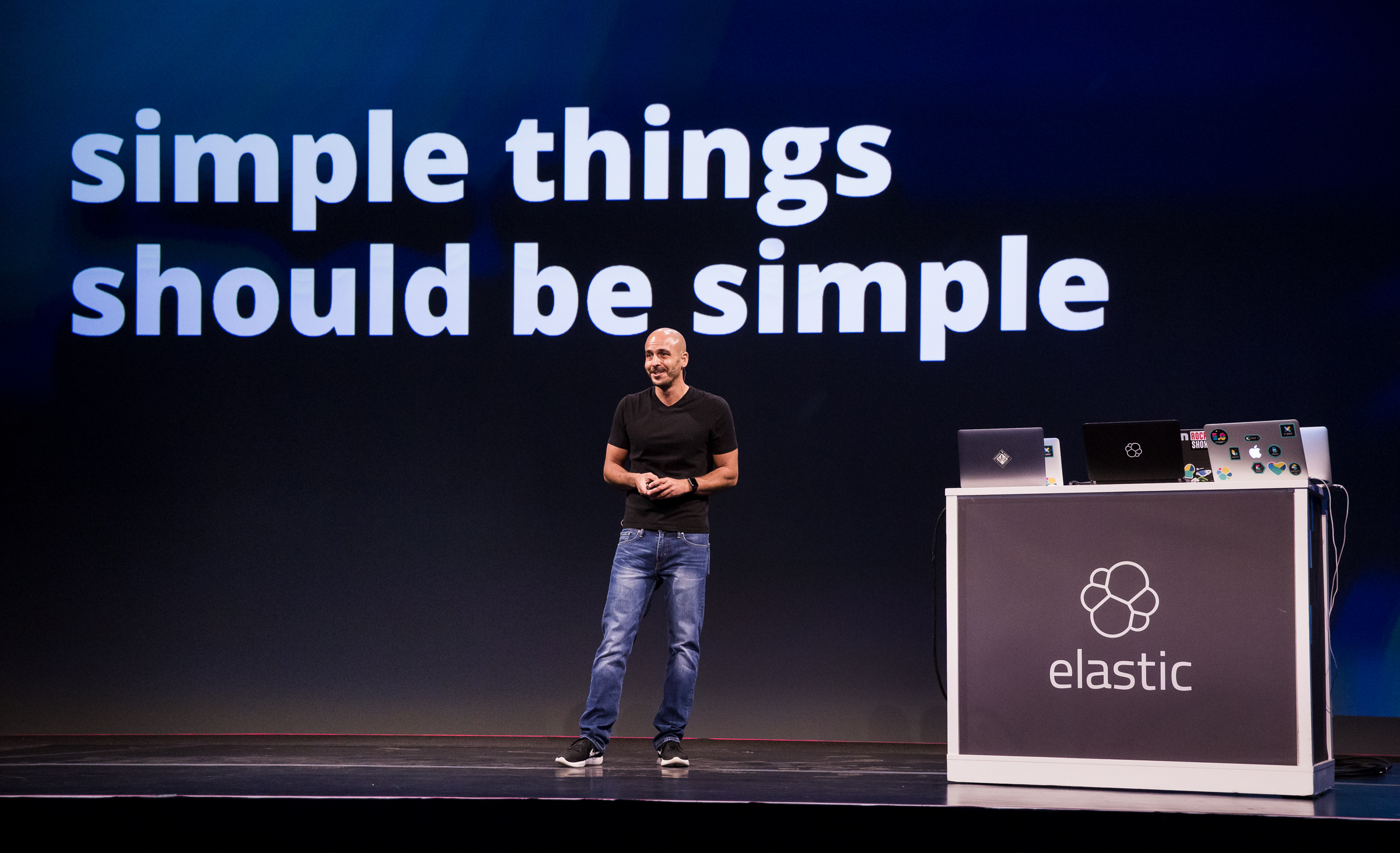 Shay Banon, CTO and co-founder of Elasticsearch