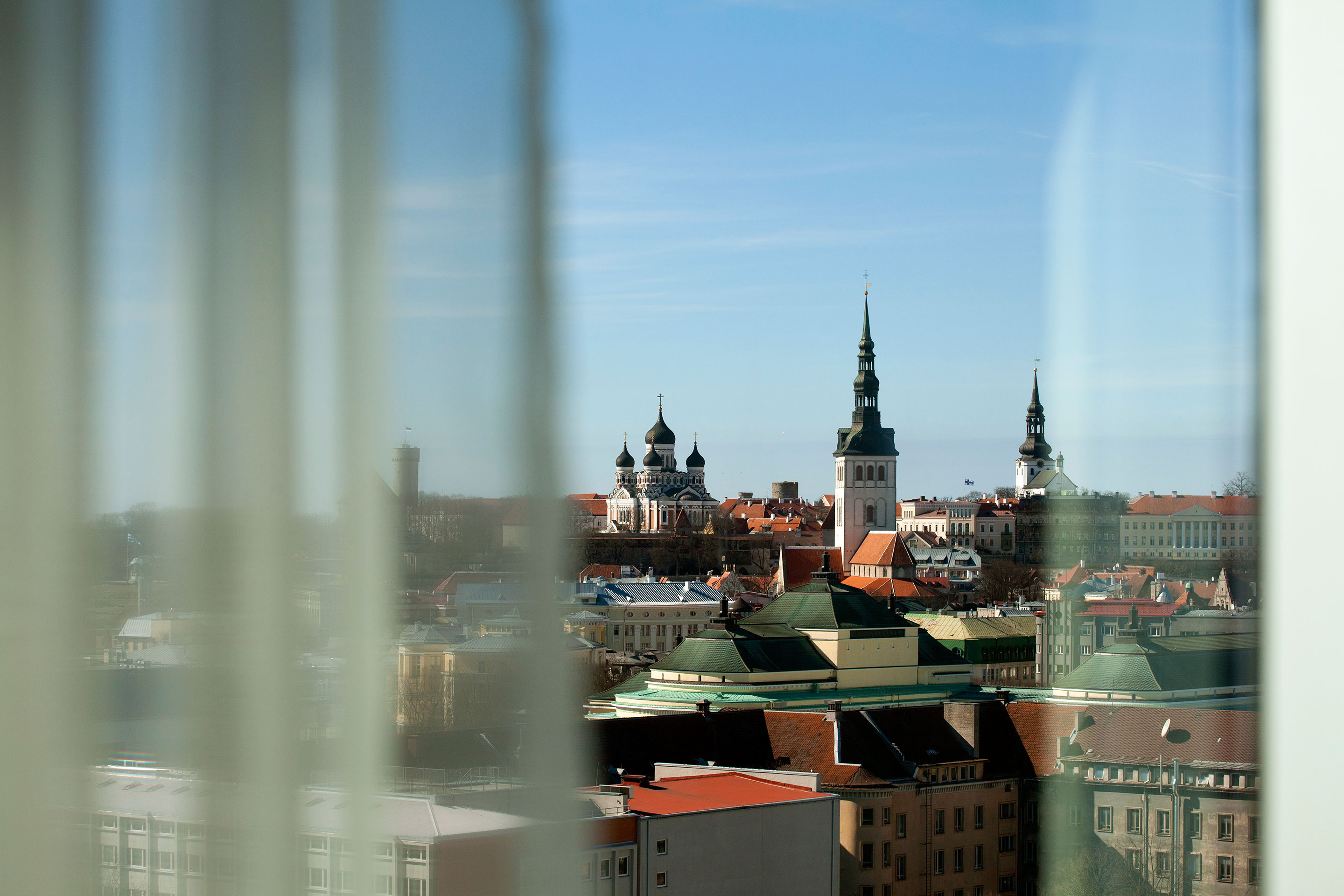 The capital of Estonia is Tallinn, a picturesque city of 400,000 whose winding medieval alleyways offer an elegant contrast to its digital present.