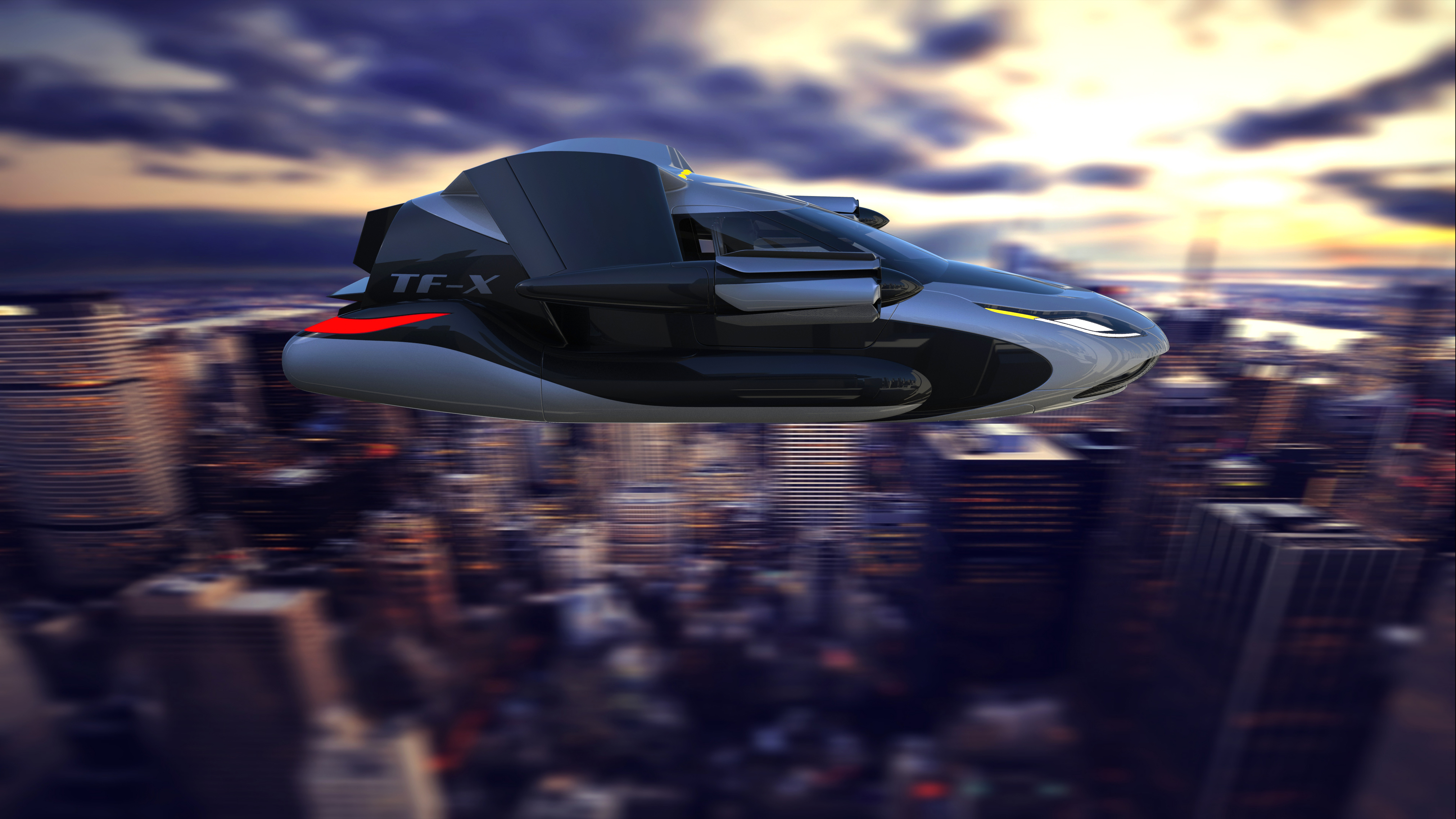 A high-flying company is hoping that futuristic airborne cars will soon become a reality.