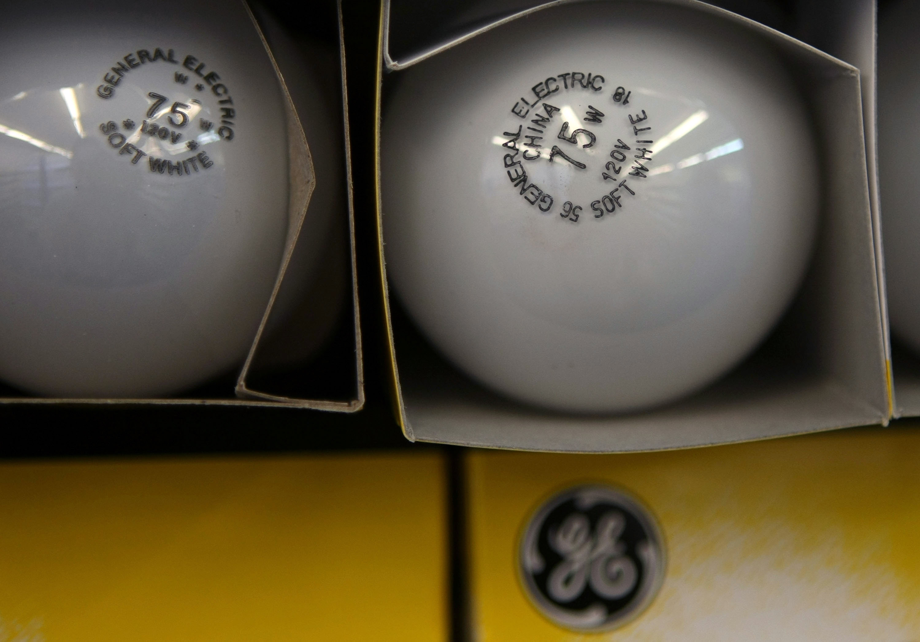 general electric sell lightbulb business