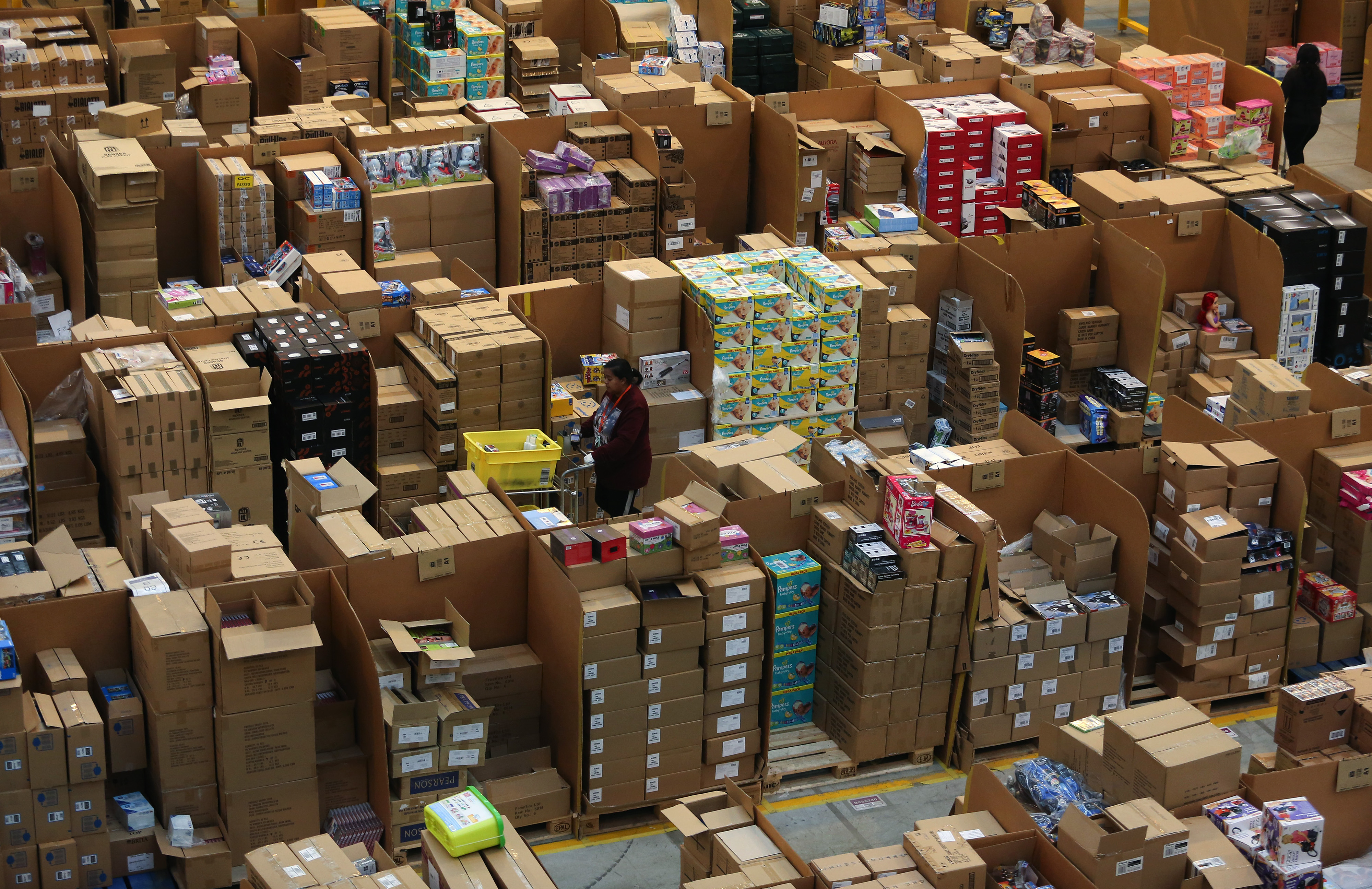 Inside An Amazon.com Inc. Fulfillment Center Ahead Of Black Friday And Cyber Monday