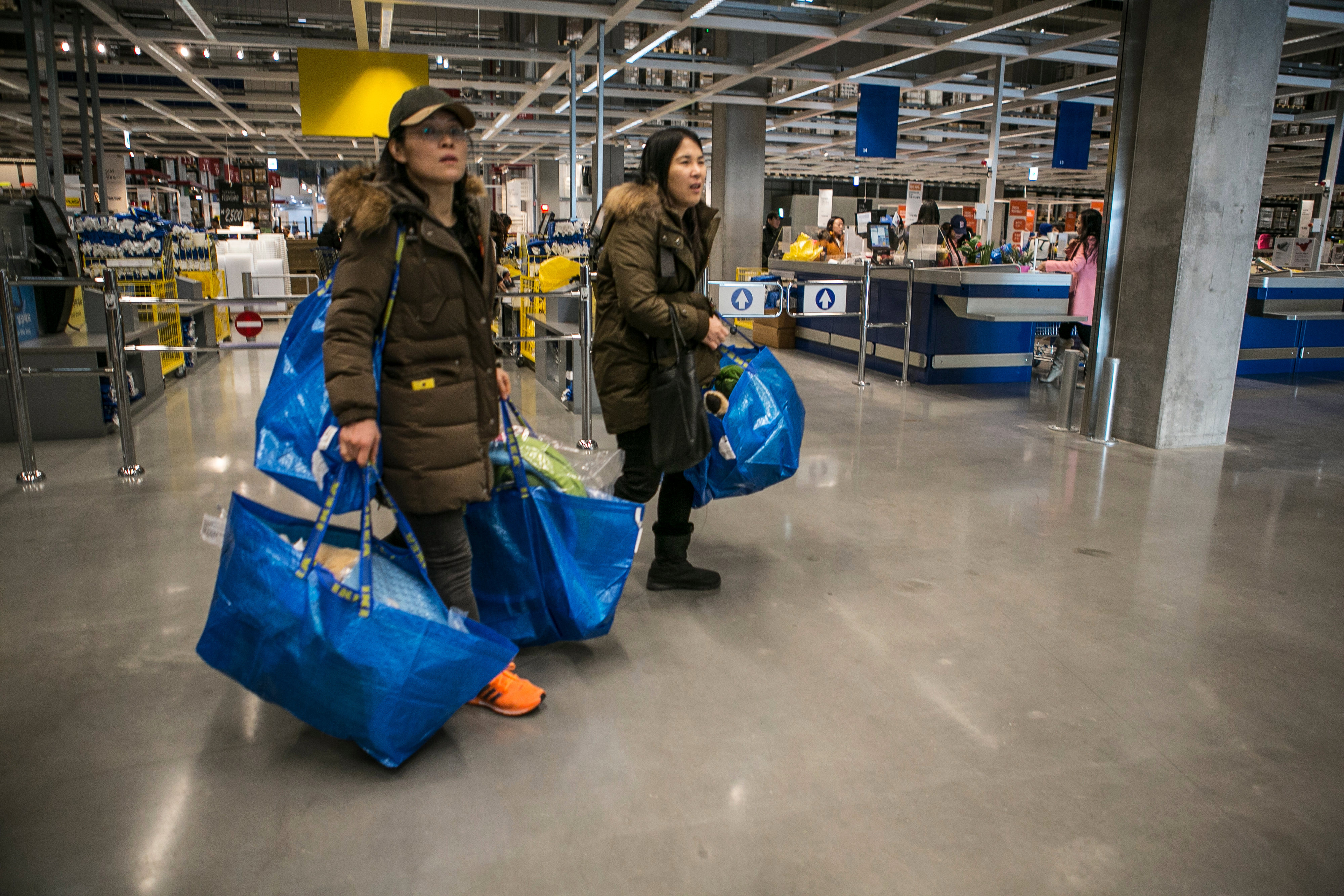 Ikea AB Opens First Store In South Korea