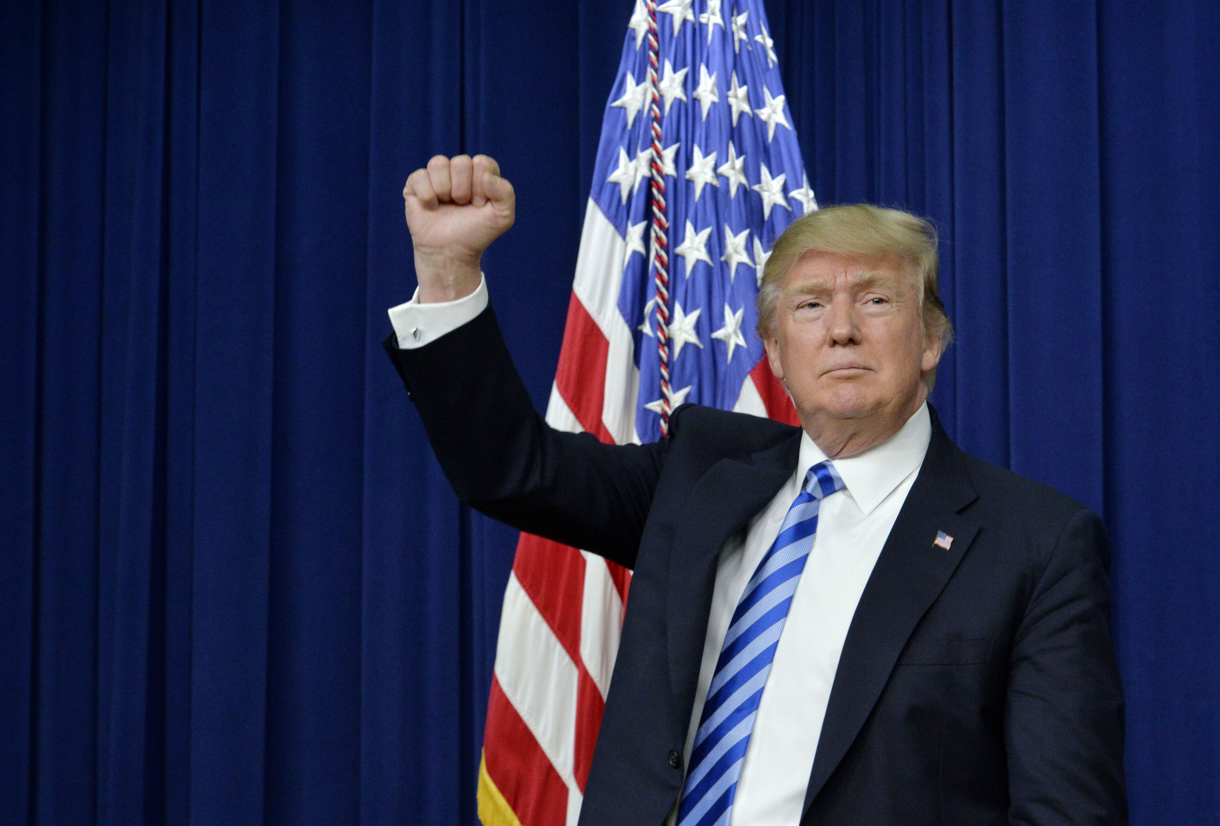 President Trump Hosts CEO Town Hall On America Business Climate At White House