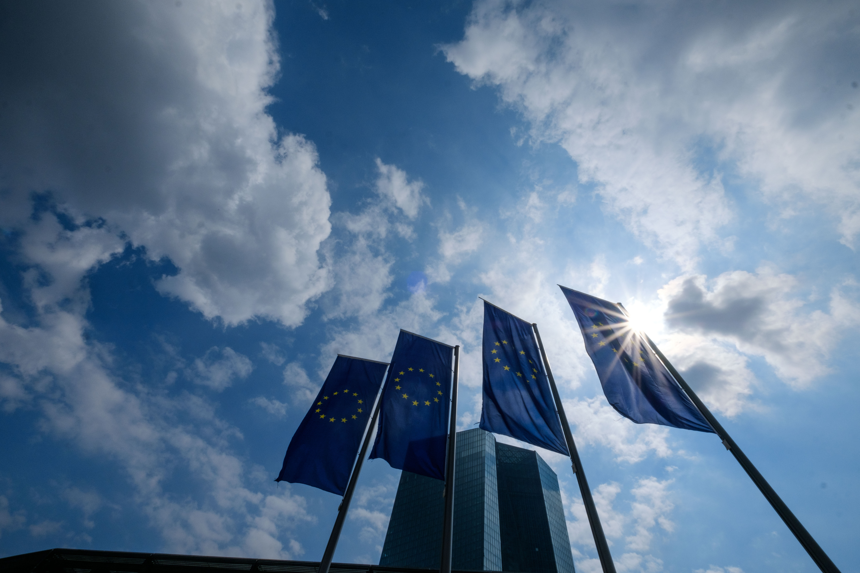 Mario Draghi Press Conference At ECB Headquarters