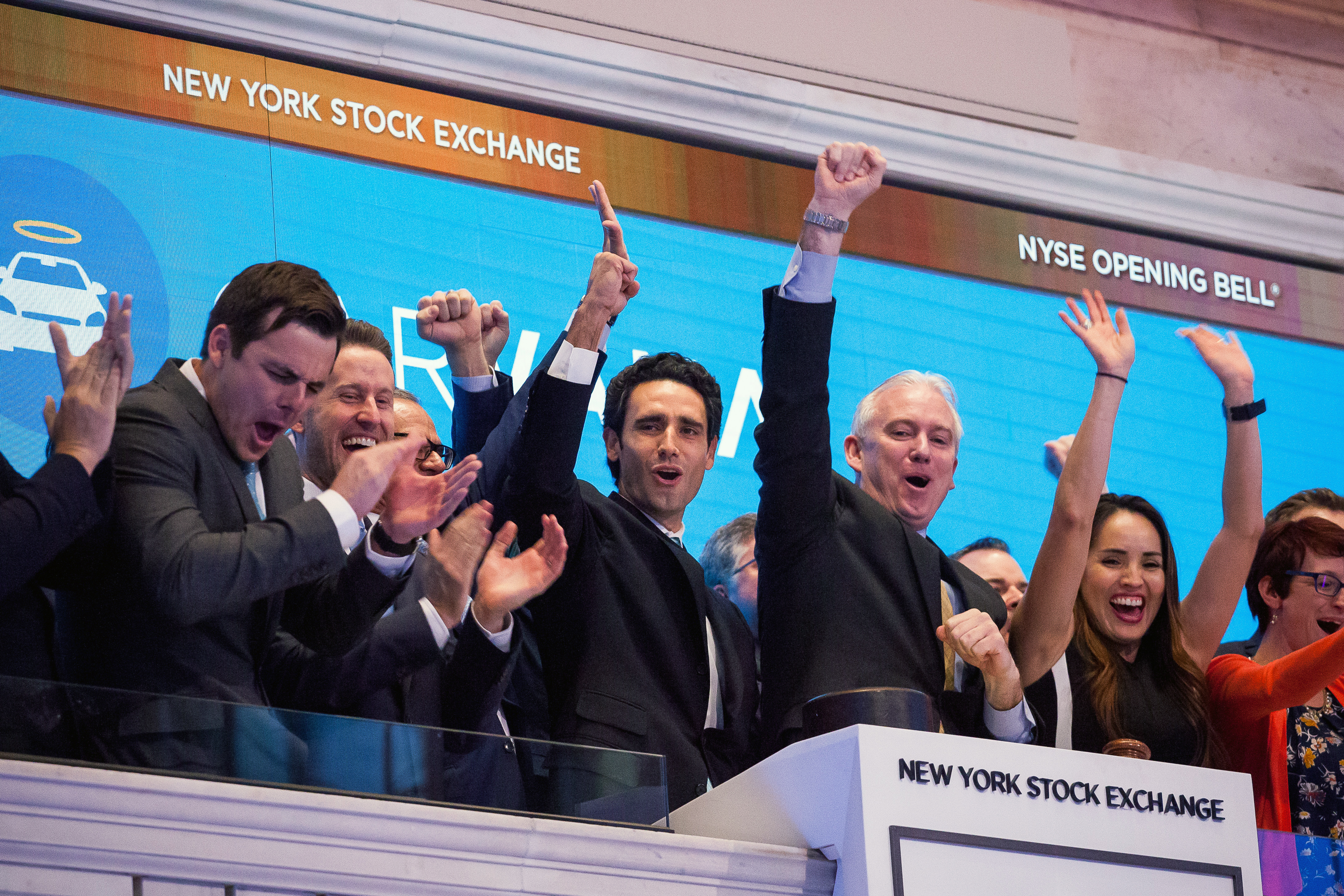 Trading On The Floor Of The NYSE As U.S. Stocks Mixed While Traders Look Past GDP