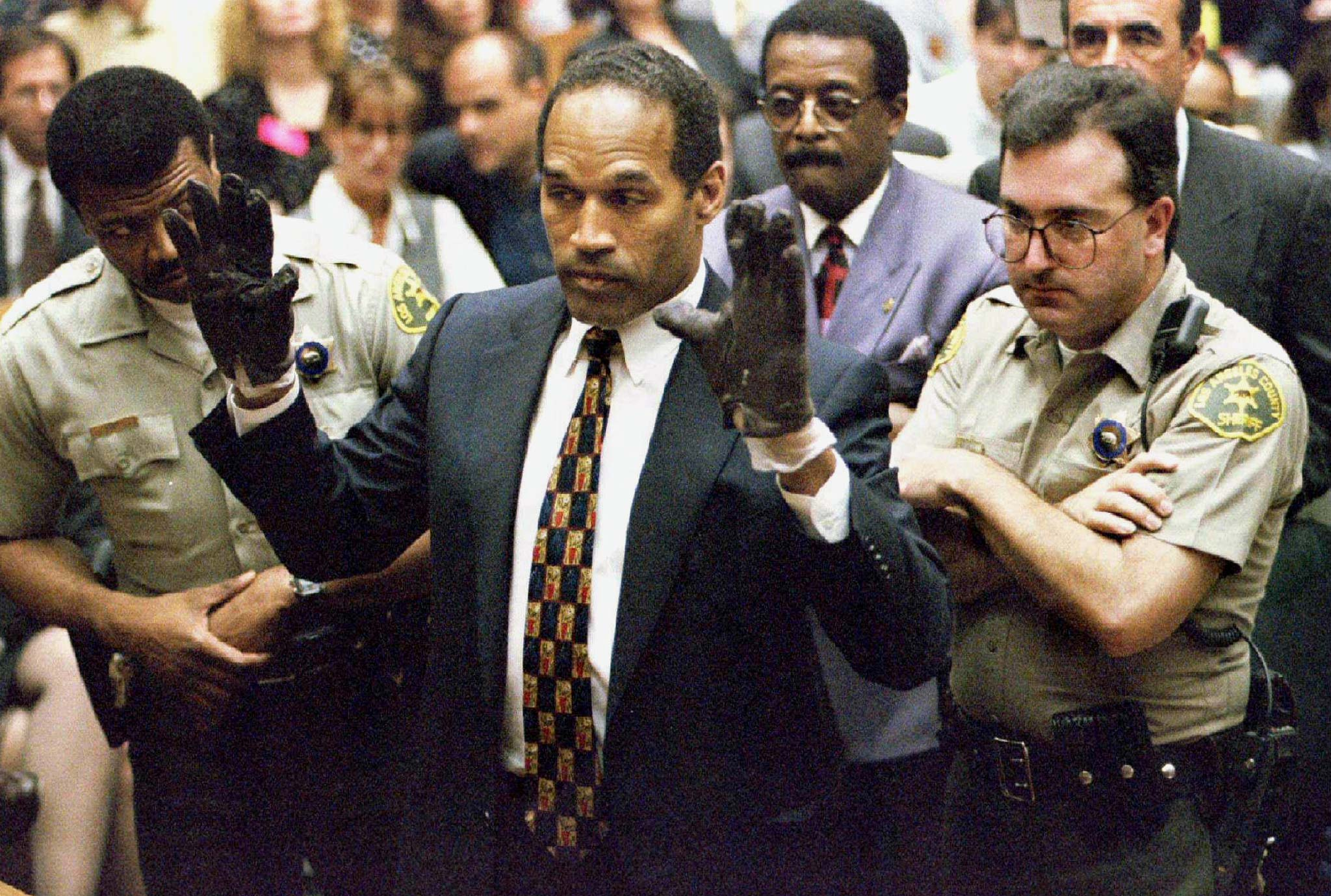 FILE PHOTO OF O.J. SIMPSON