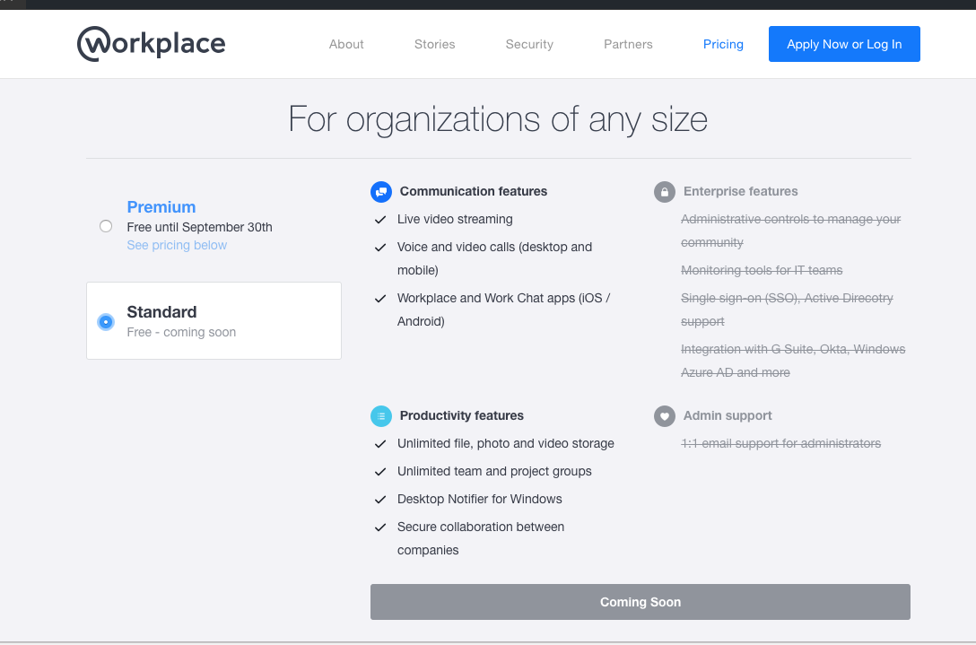 Facebook Announces Free Version Workplaces, its Slack Killer