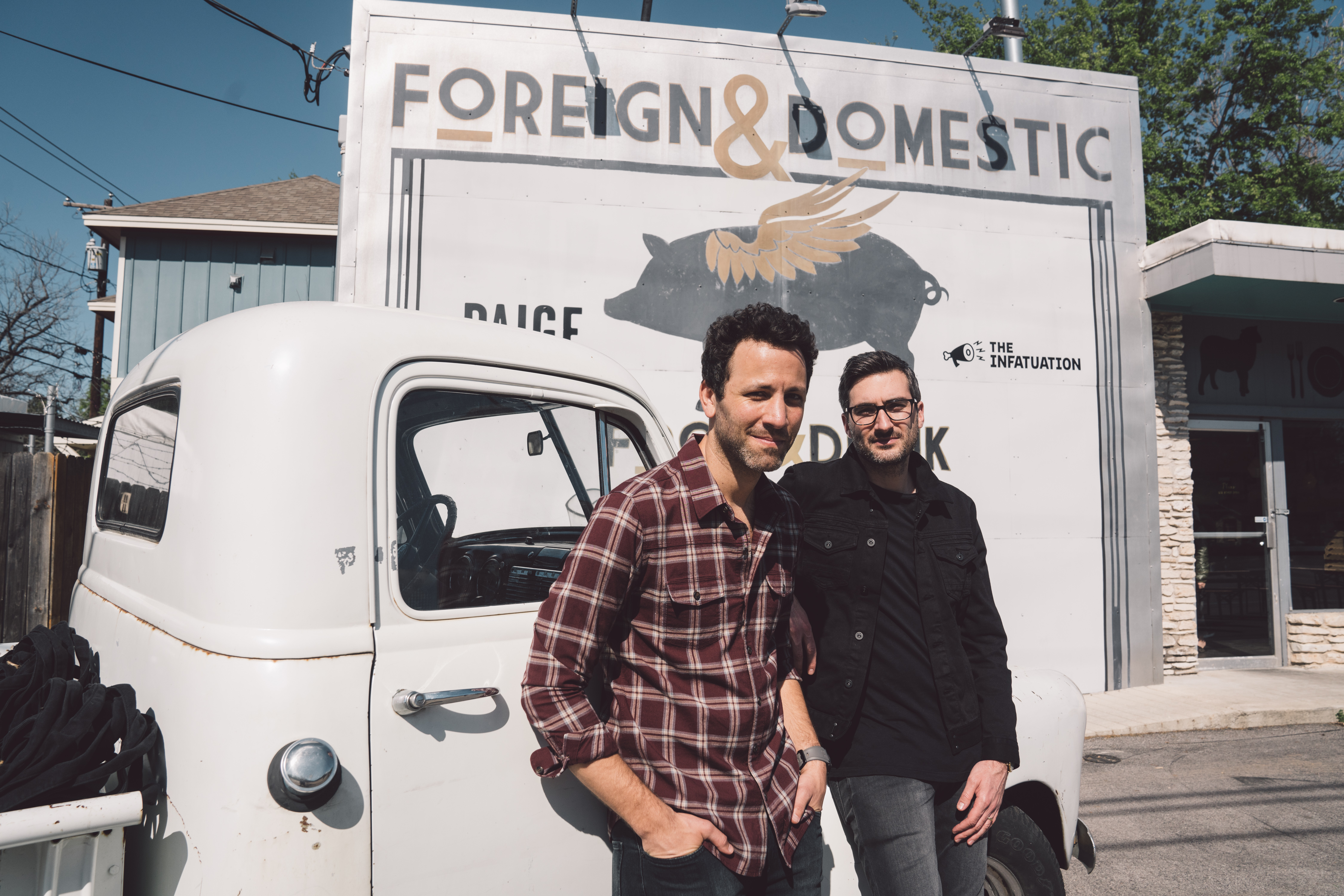 The Infatuation co-founders: Chris Stang and Andrew Steinthal.