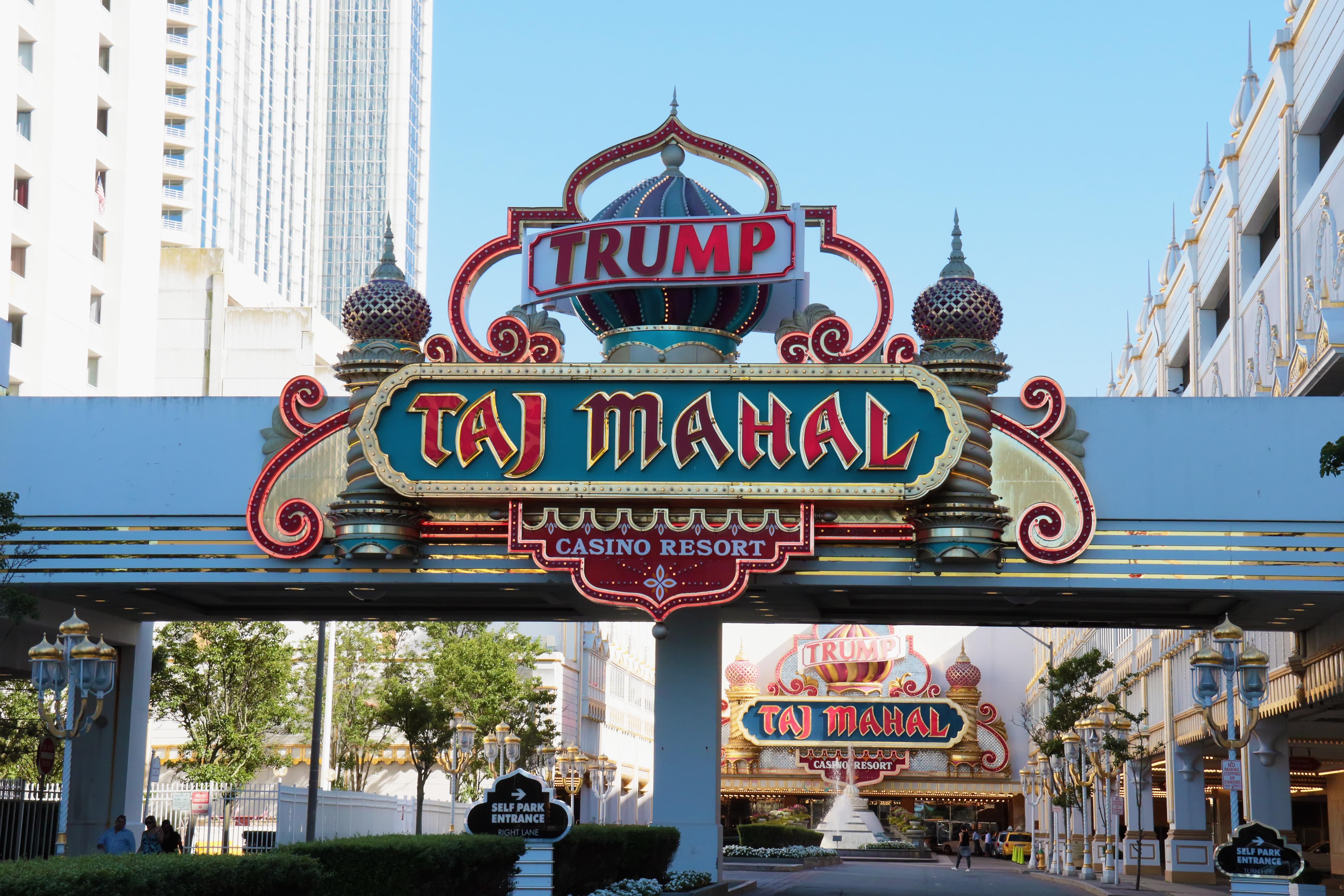 Trump Taj Mahal Announces Closure At The End Of 2016 Summer Season