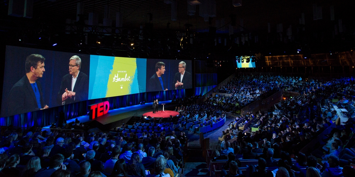 Ted Conference offers high quality and valuable content