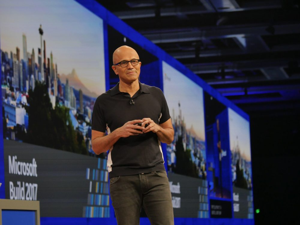 Microsoft CEO Satya Nadella is focusing the company on cloud software and services.