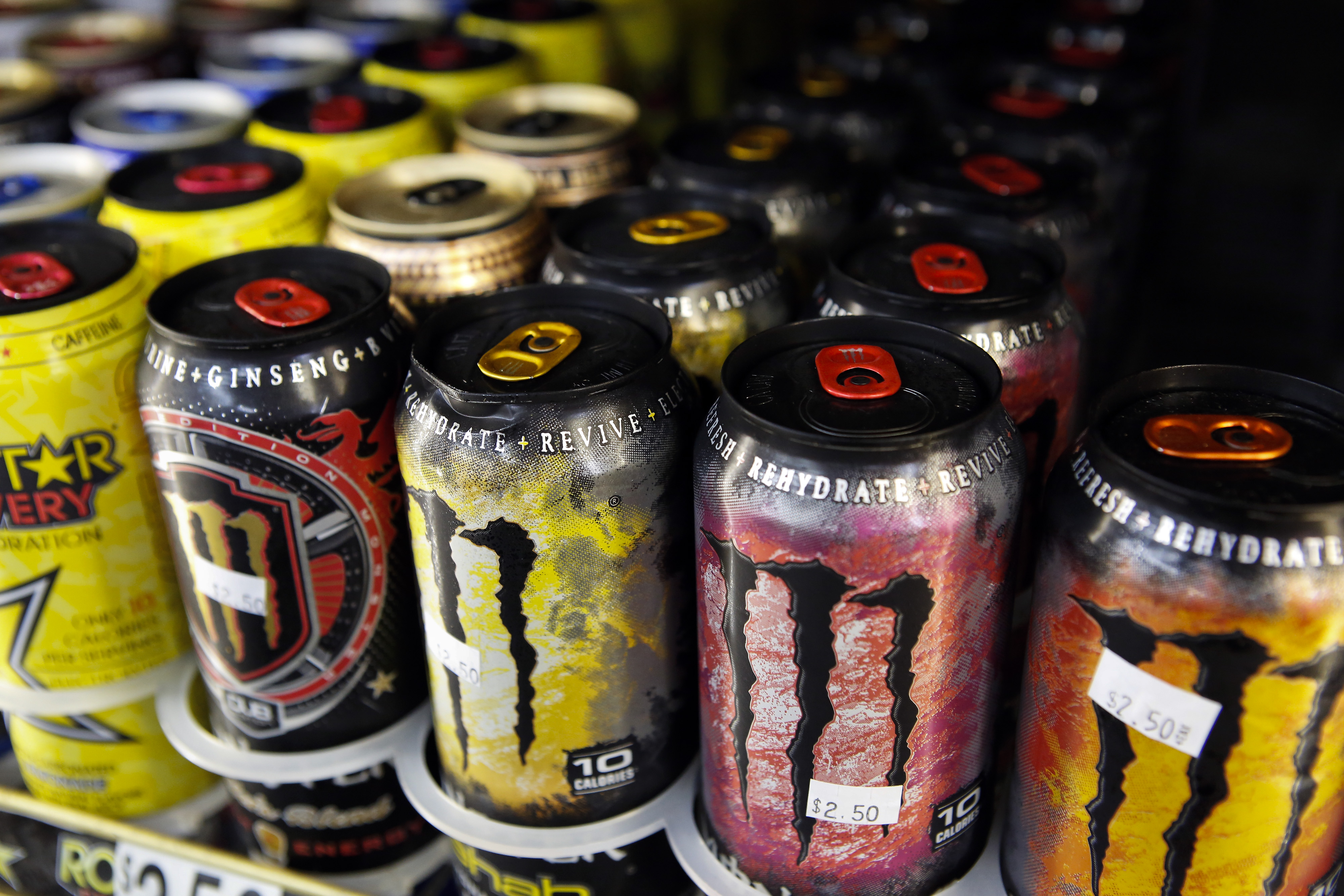 Monster Energy Drinks Ahead Of Earnings Data