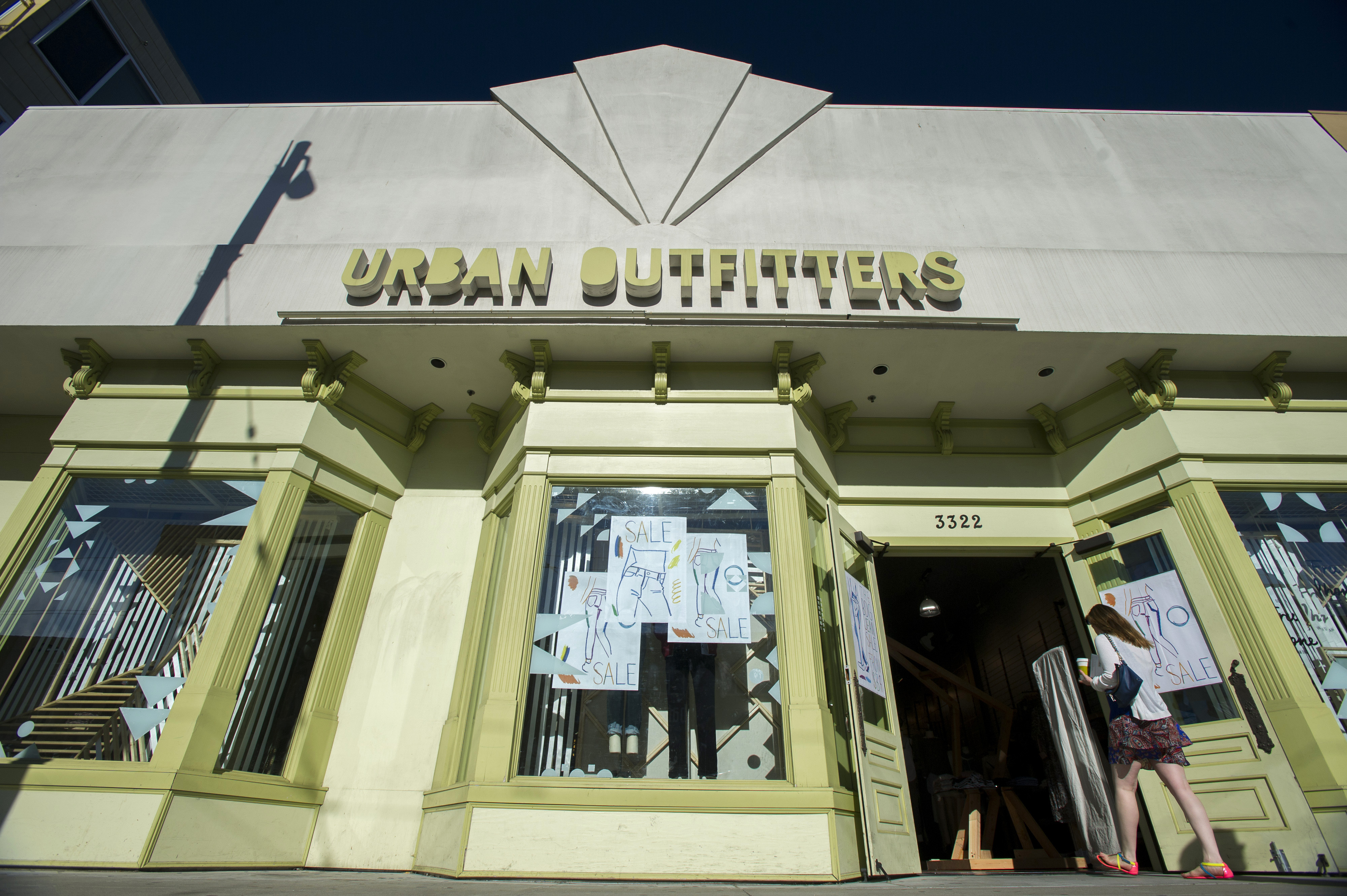 An Urban Outfitters Inc. Store As Earnings Figures Are Released
