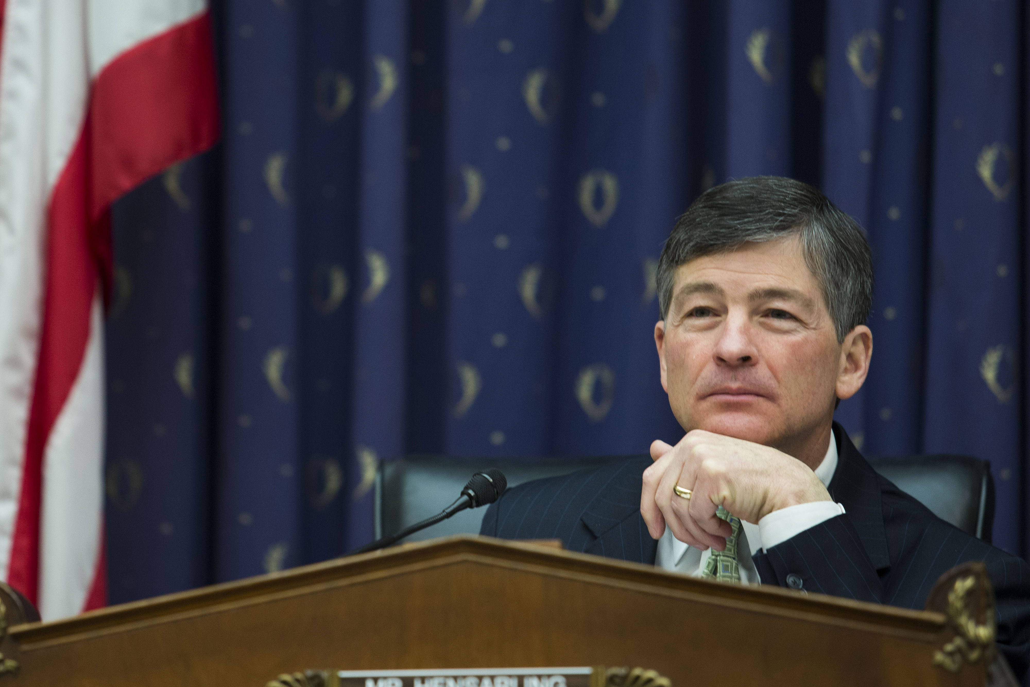 U.S. Representative Jeb Hensarling, chairman of the House Financial Services Committee and a Republican from Texas