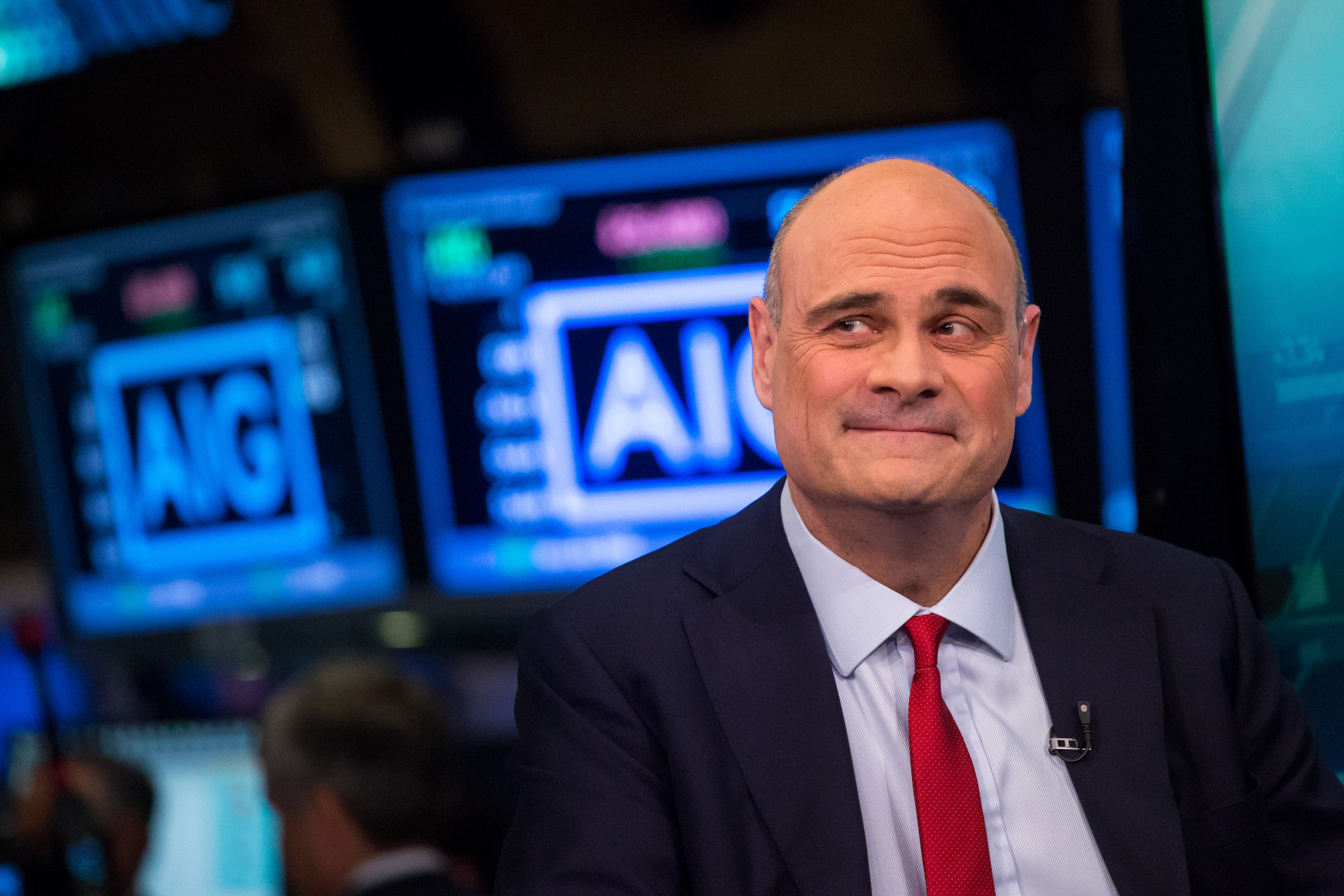 Outgoing Aig CEO Peter Hancock