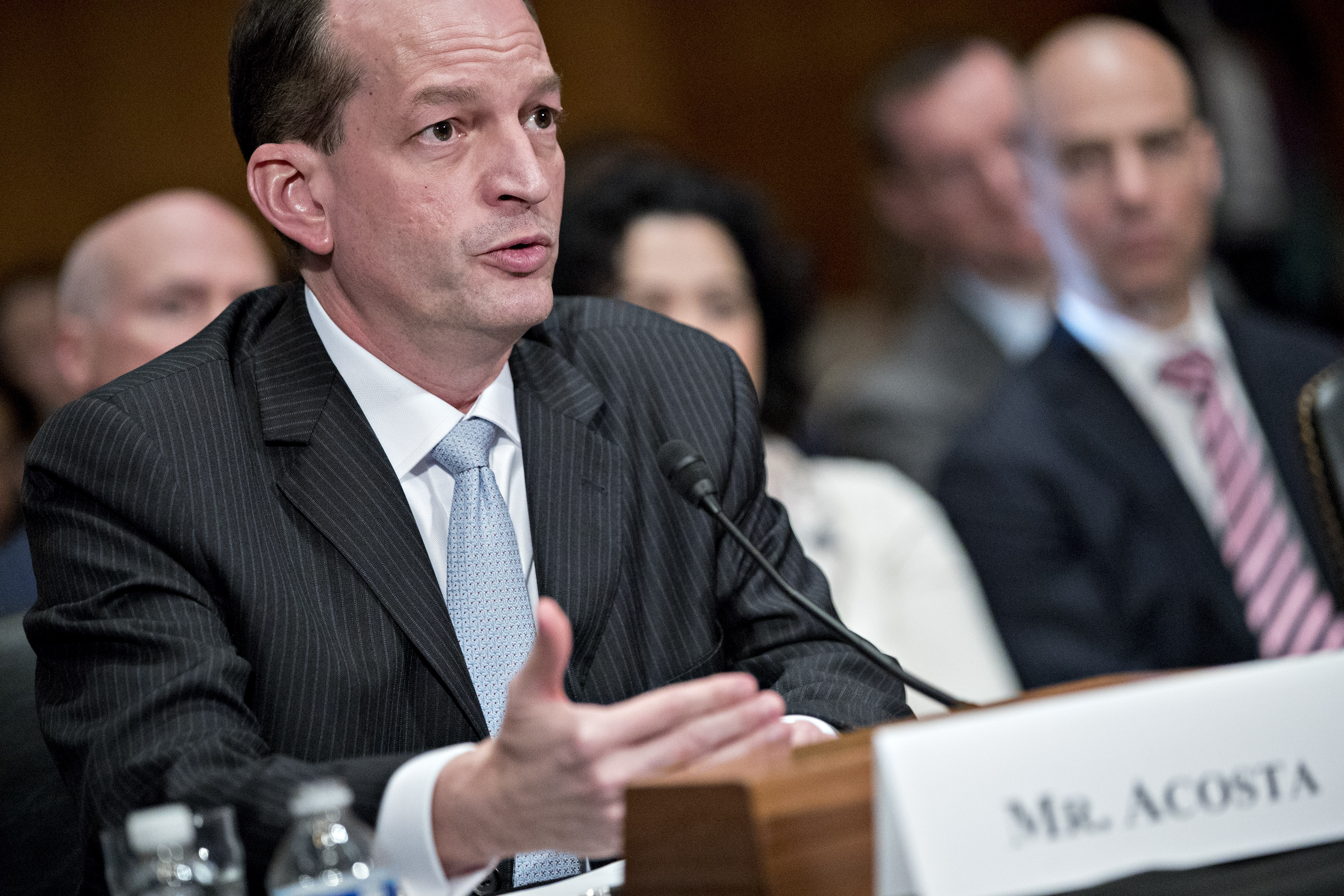 Senate Confirmation Hearing For R. Alexander Acosta To Lead Labor Department