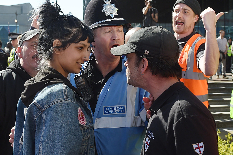 EDL Birmingham march