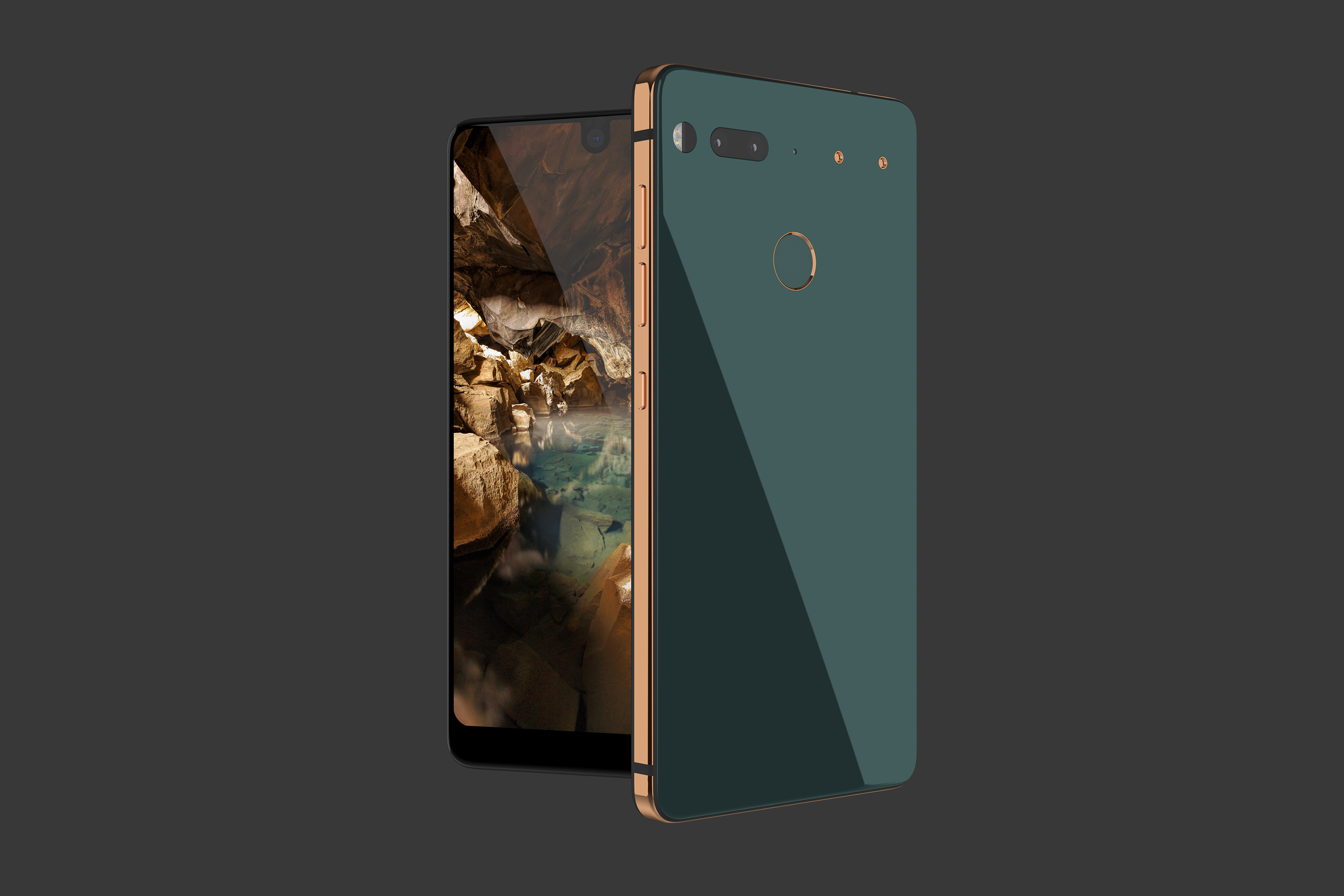 The first smartphone from Essential, the new startup from Android creator Andy Rubin.