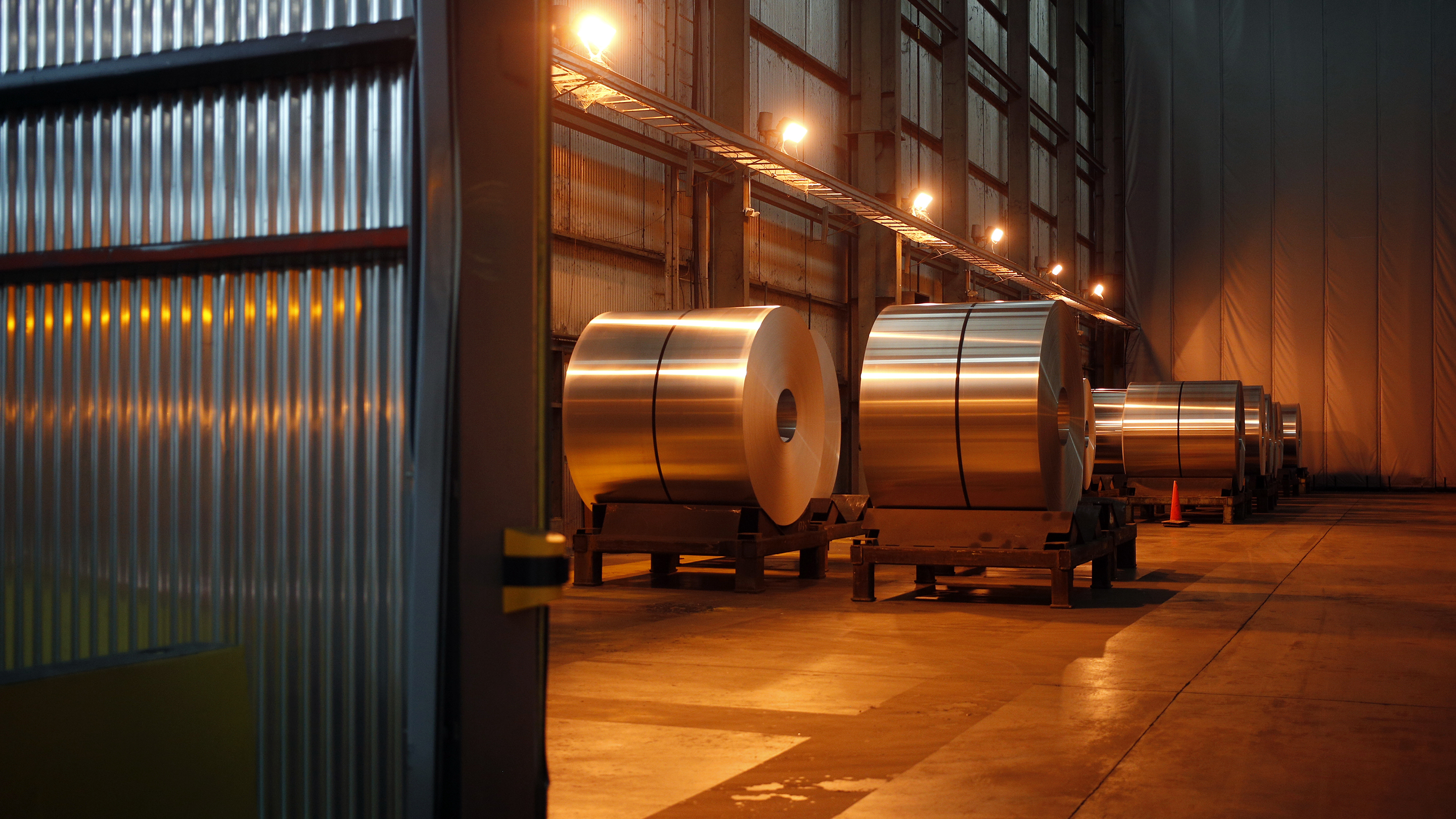 Operations Inside An Arconic Inc. Aluminum Coil Manufacturing Facility Ahead Of Earnings Figures