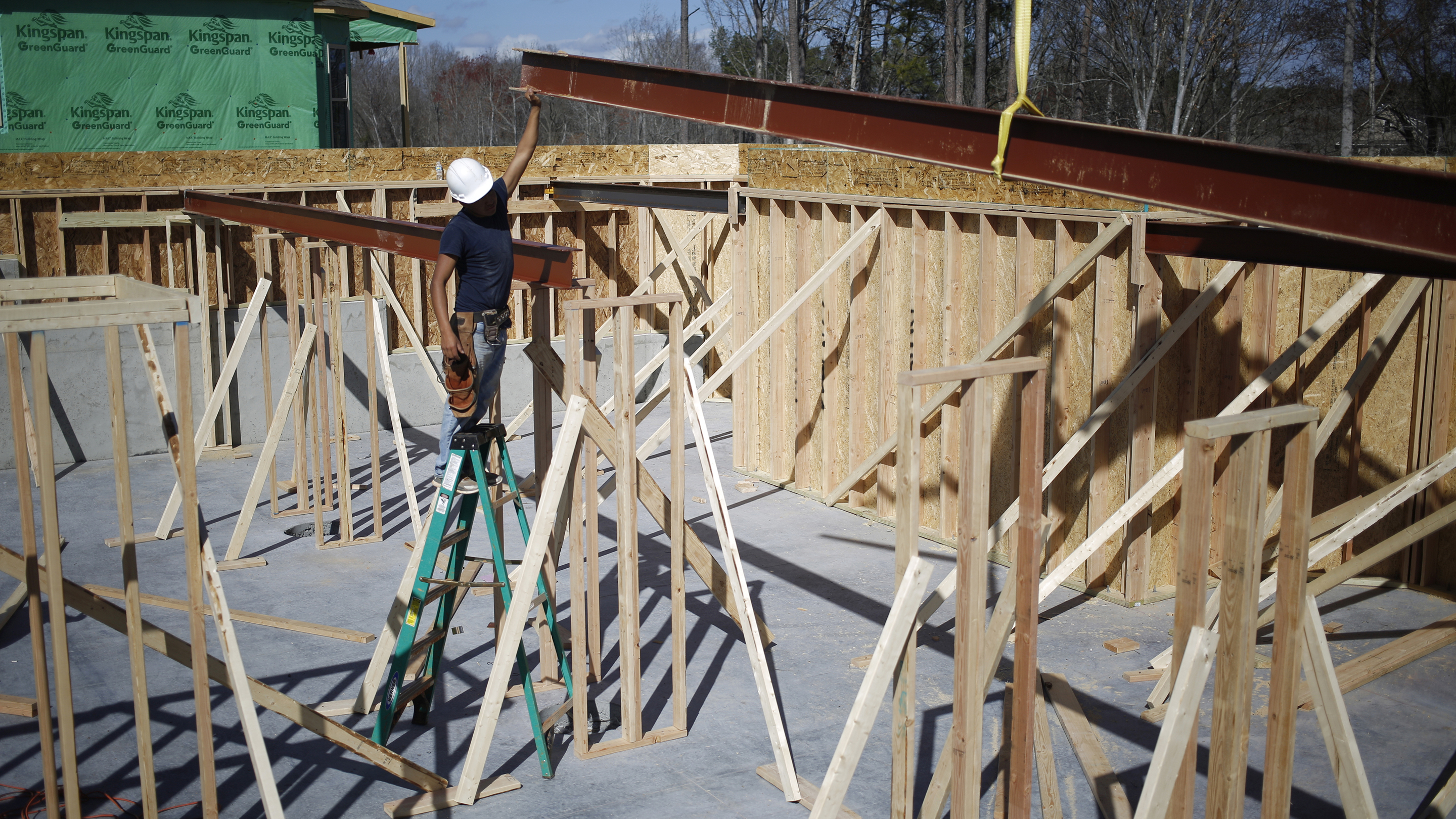 A Toll Brothers Inc. Housing Development As Construction Spending Figures Are Released