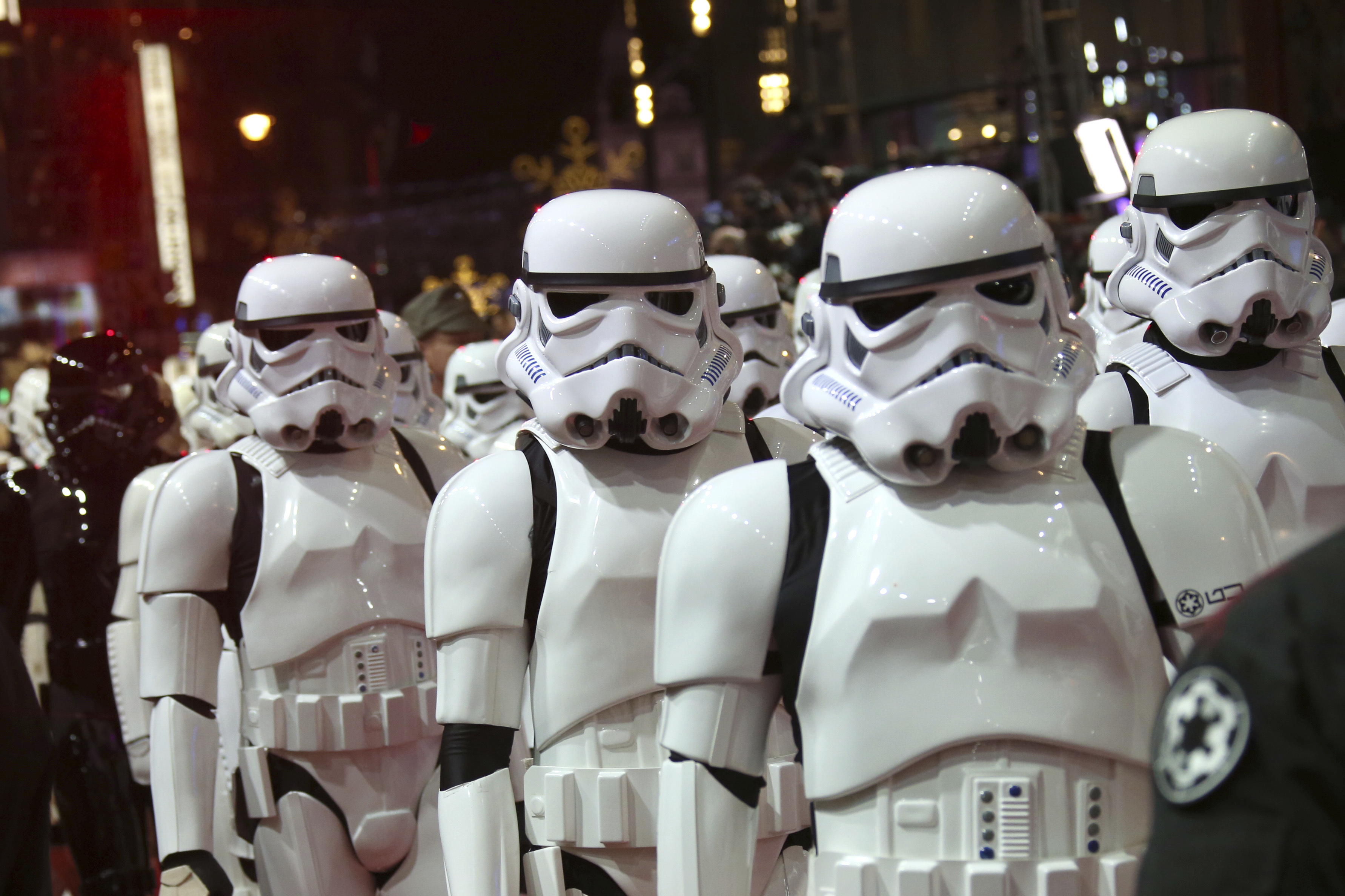A fake news story this week said the next Star Wars movie is being filmed in a number of cities and hundreds of extras are needed.