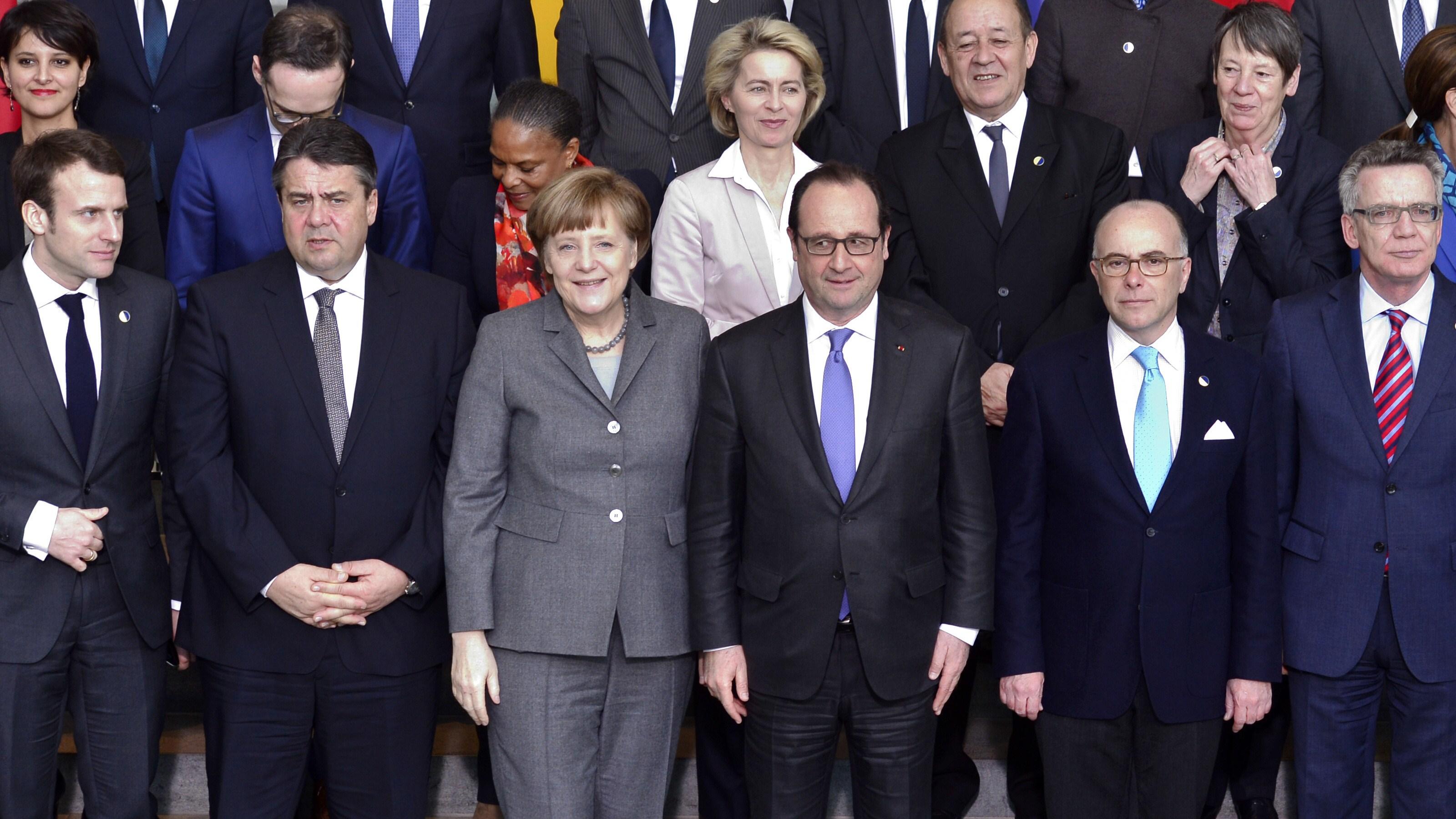 GERMANY-FRANCE-EU-DIPLOMACY-ECONOMY-DEFENCE