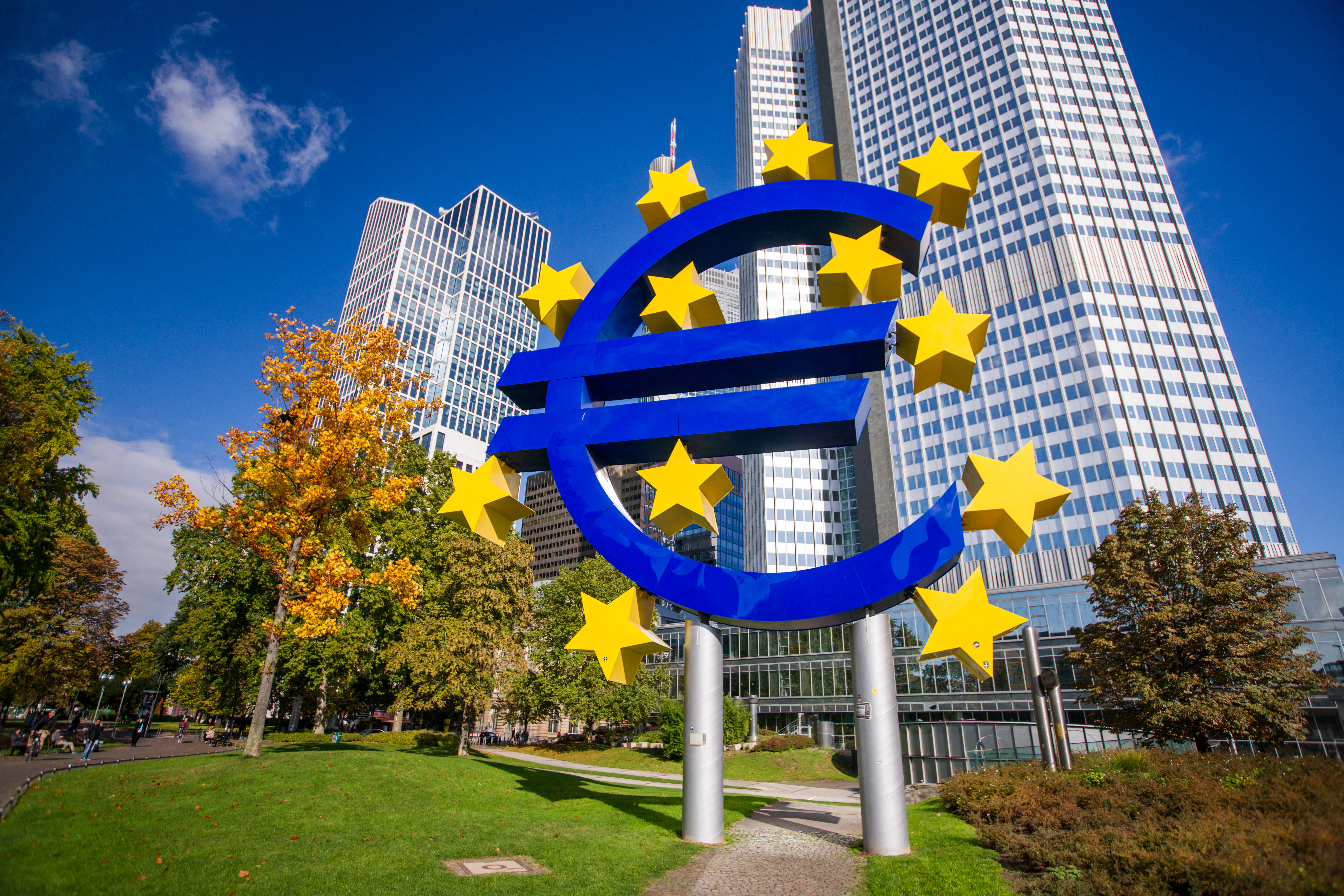 Euro Symbol, Frankfurt