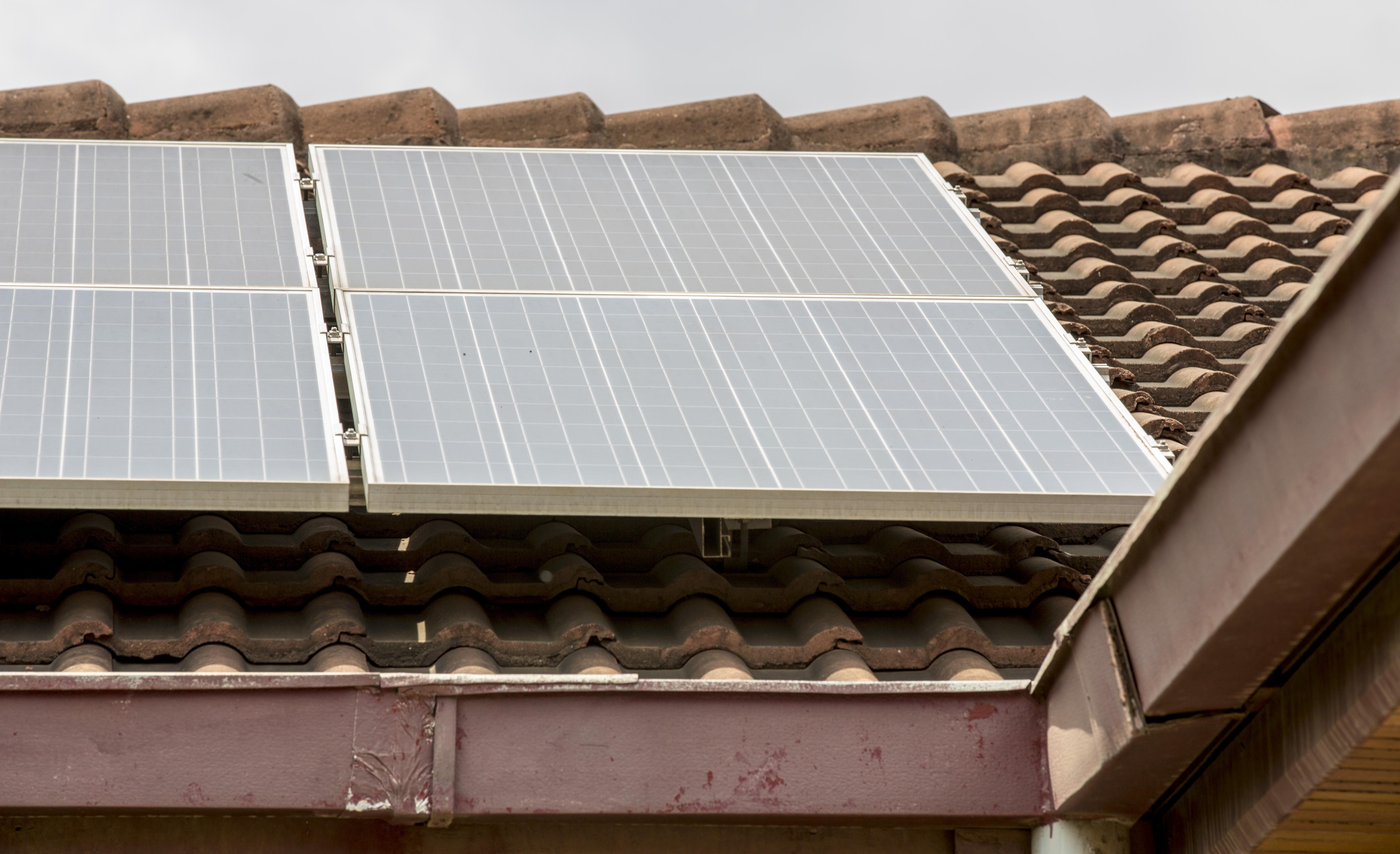 Solar plant in Africa