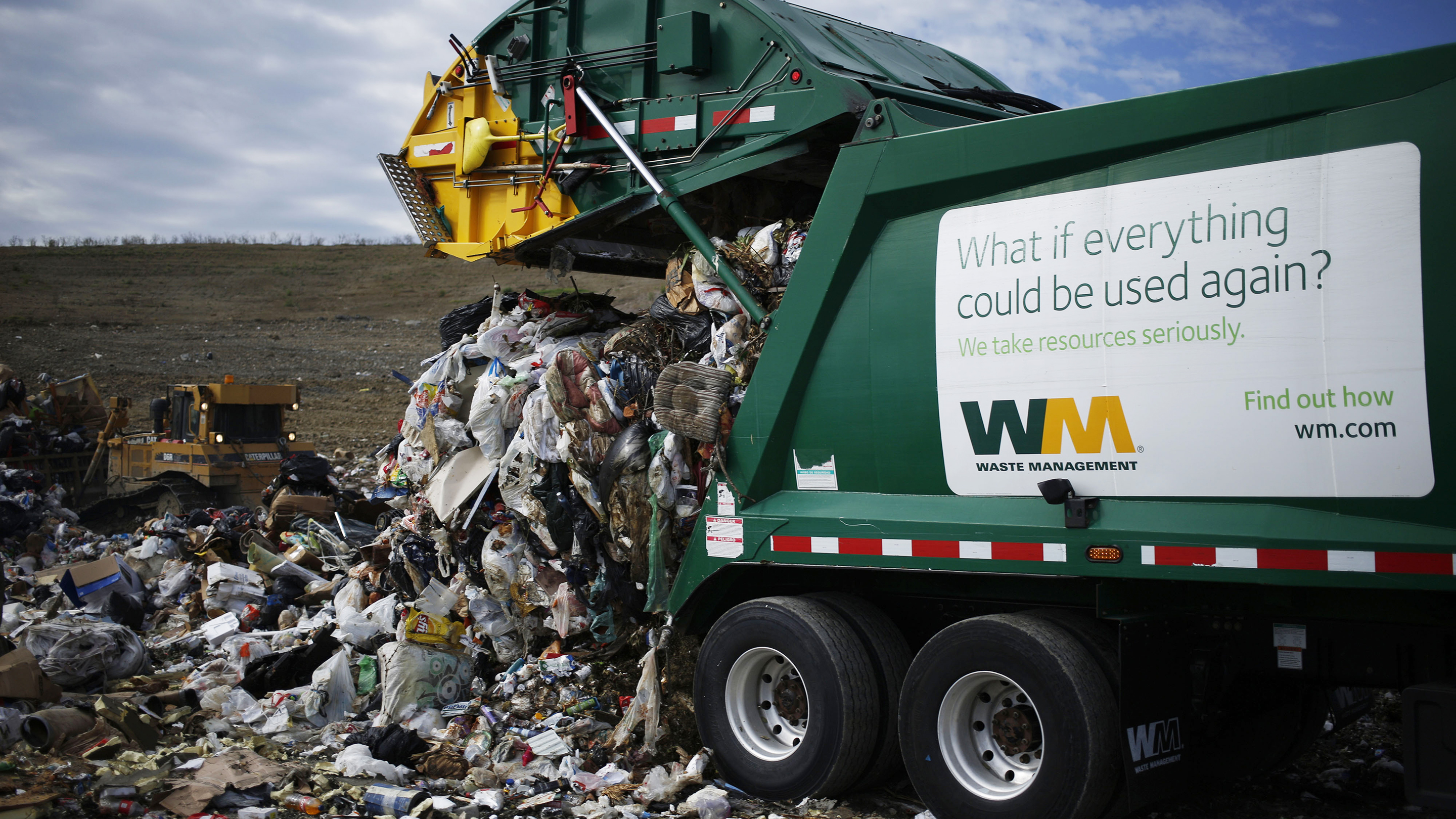 A Waste Management Inc. Landfill Ahead Of Earnings Figures