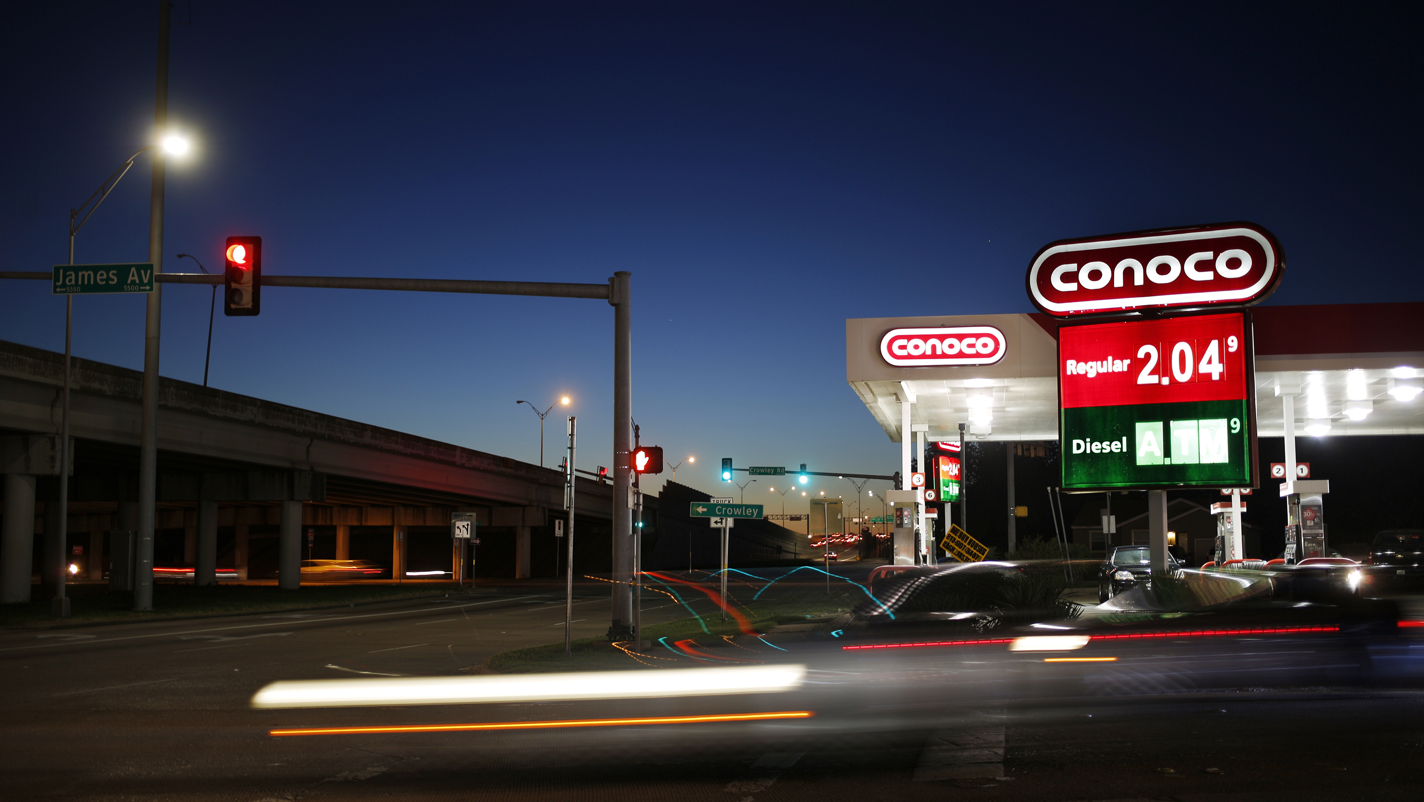A ConocoPhillips Gas Station Ahead Of Earnings Figures