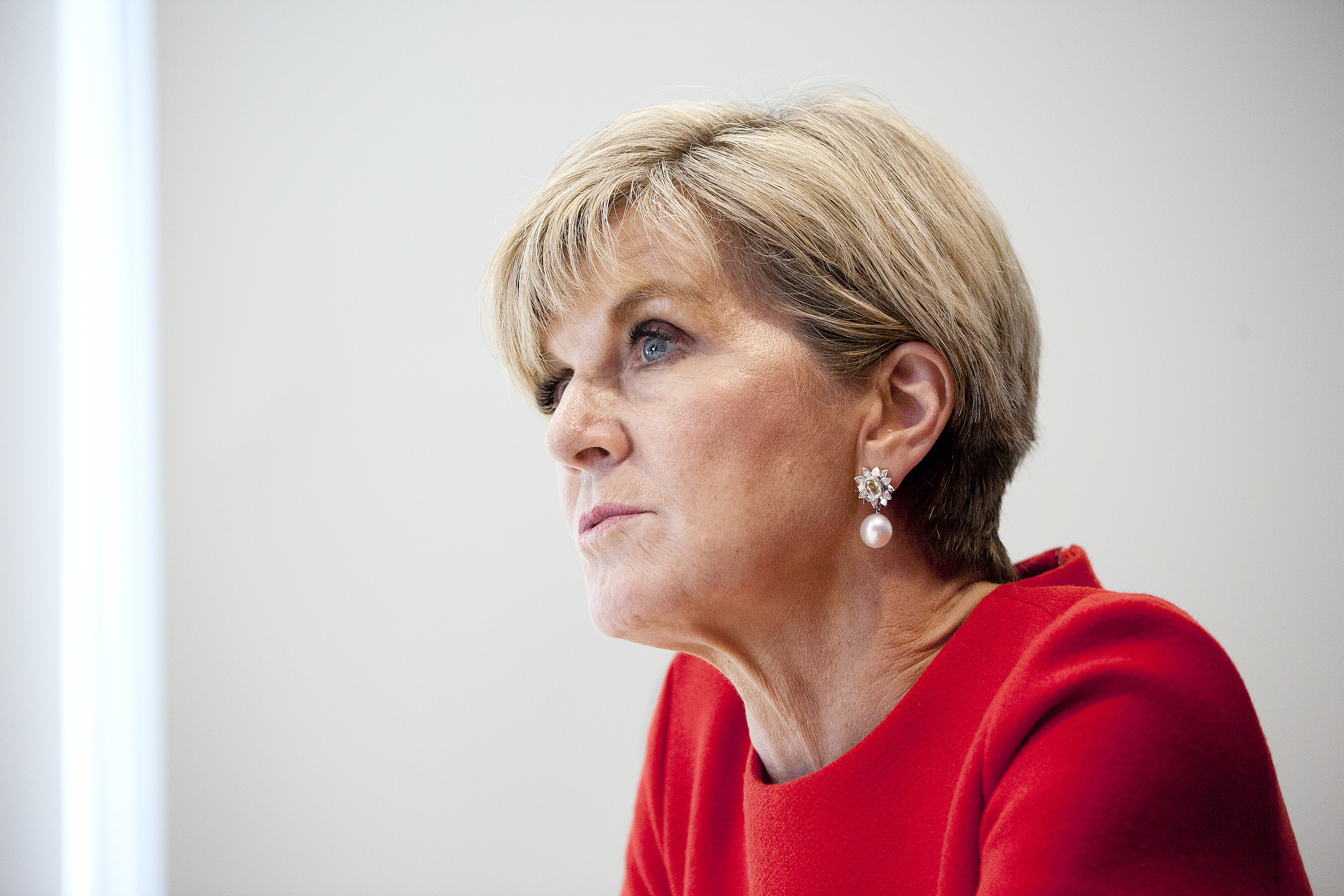 Australian Minister for Foreign Affairs Julie Bishop Interview