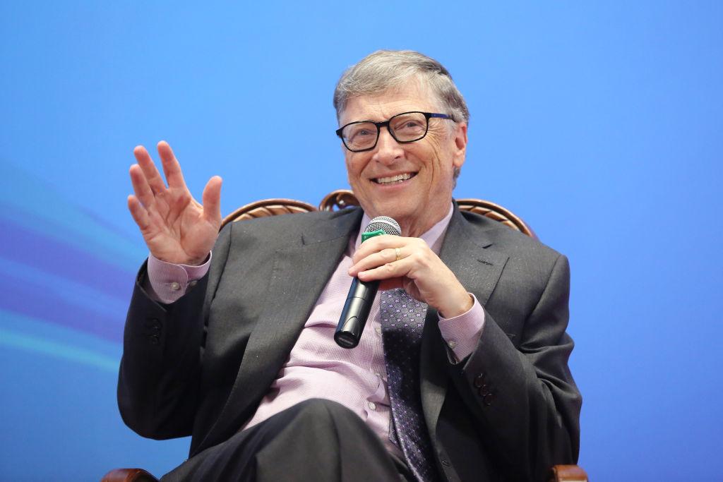 Bill Gates Makes Speech At Peking University