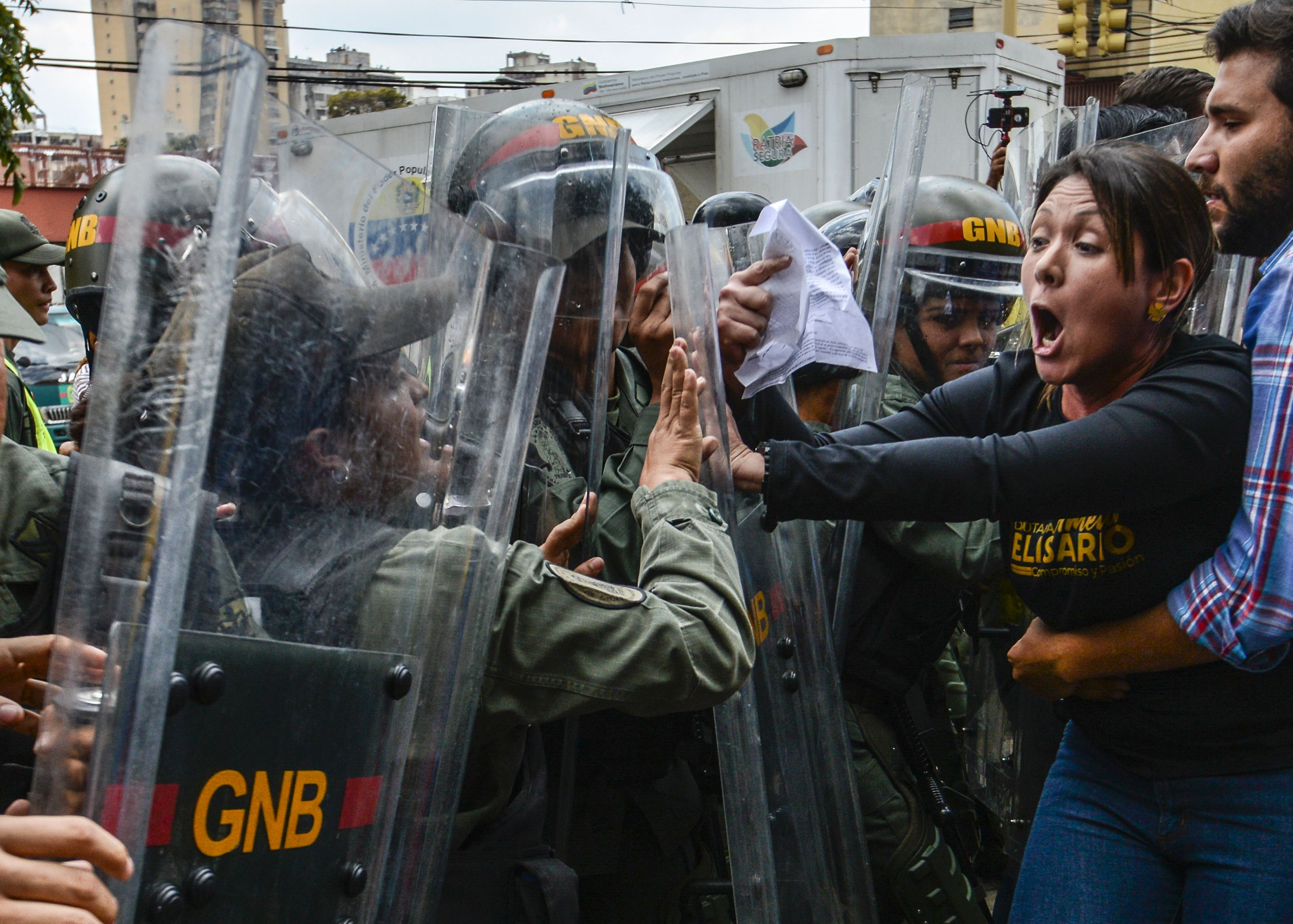 TOPSHOT-VENEZUELA-CRISIS-SCJ-OPPOSITION