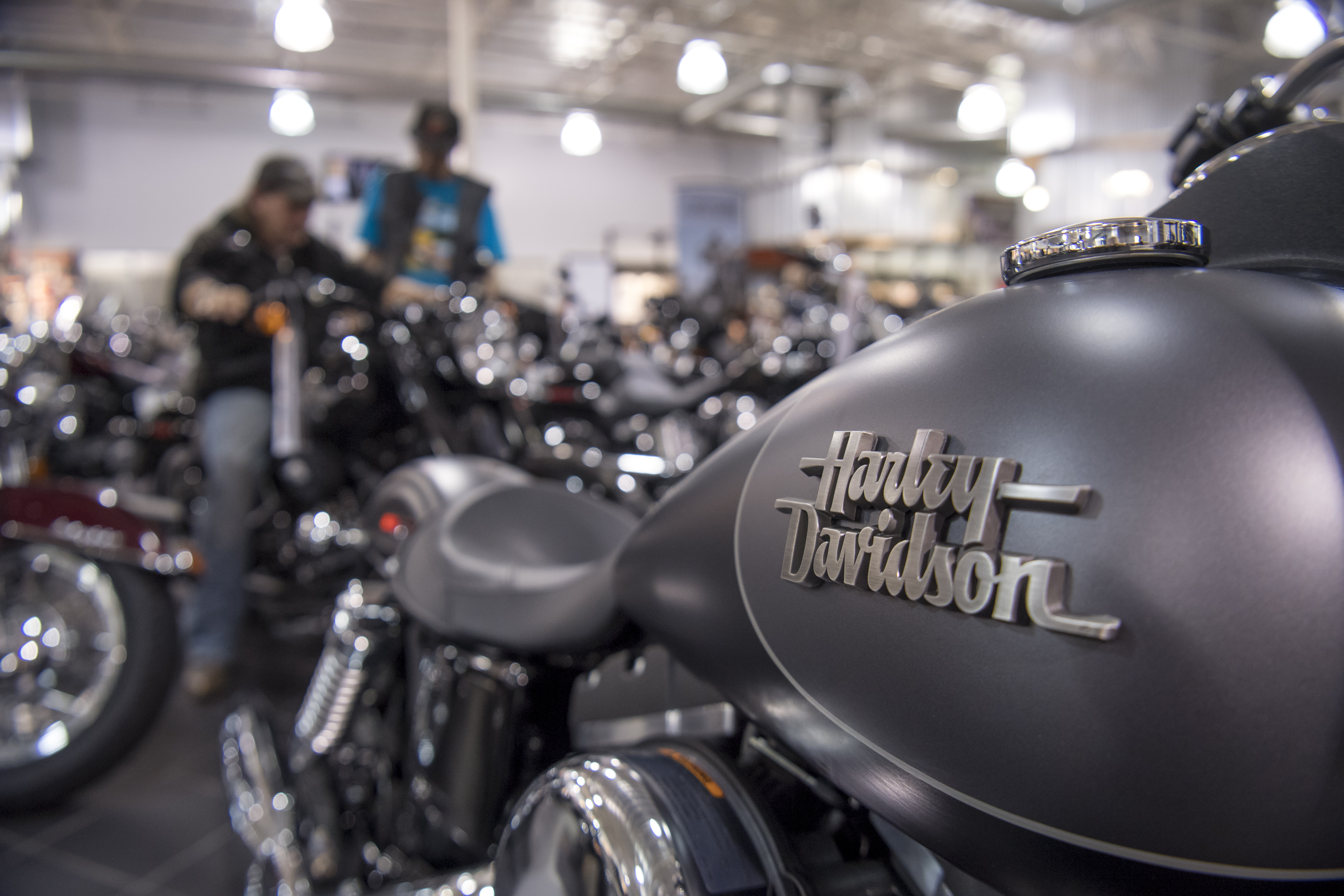 Inside A Harley-Davidson Inc. Store Ahead Of Earnings Figures