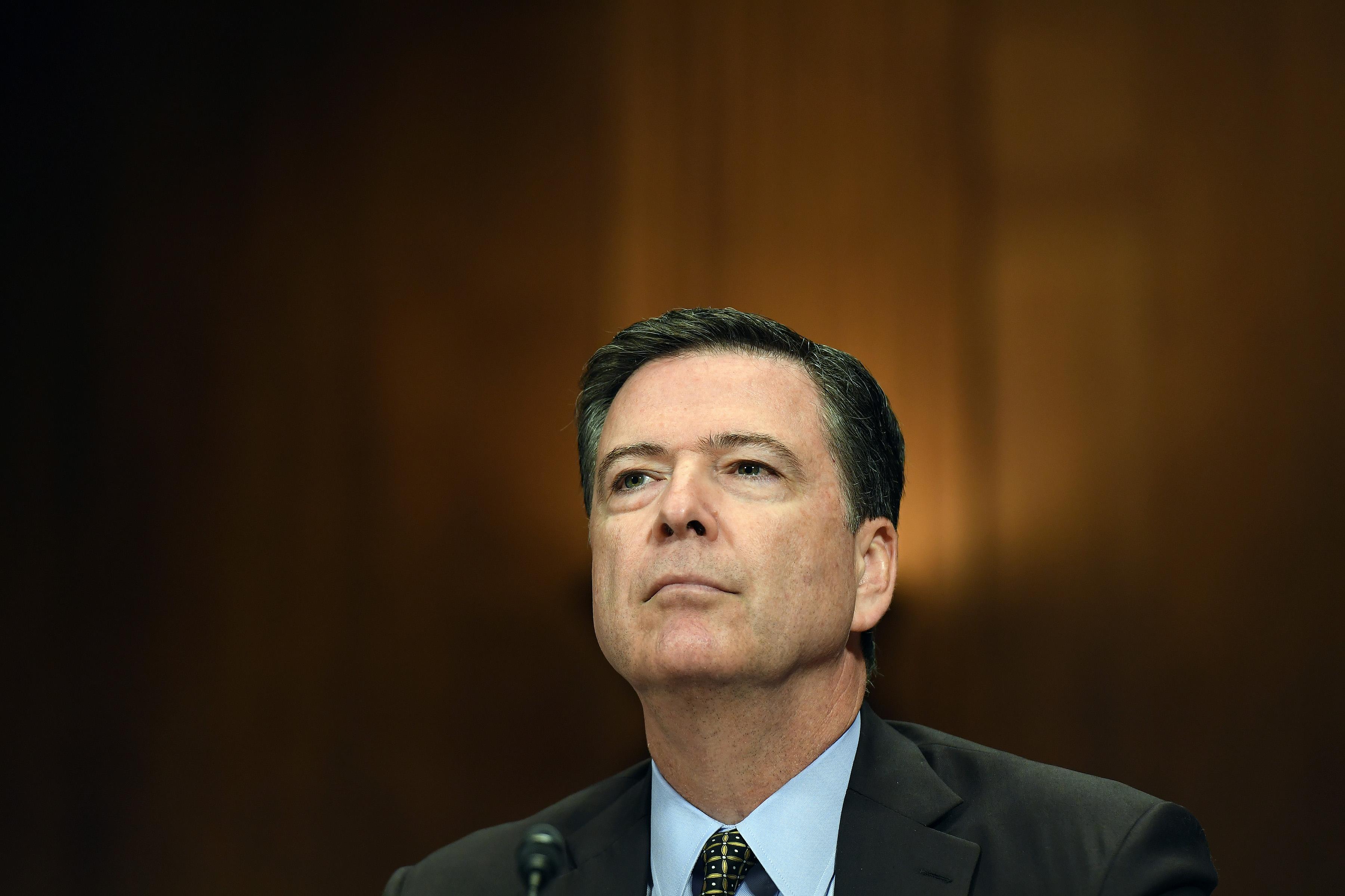 FBI Director James Comey - Washington, DC