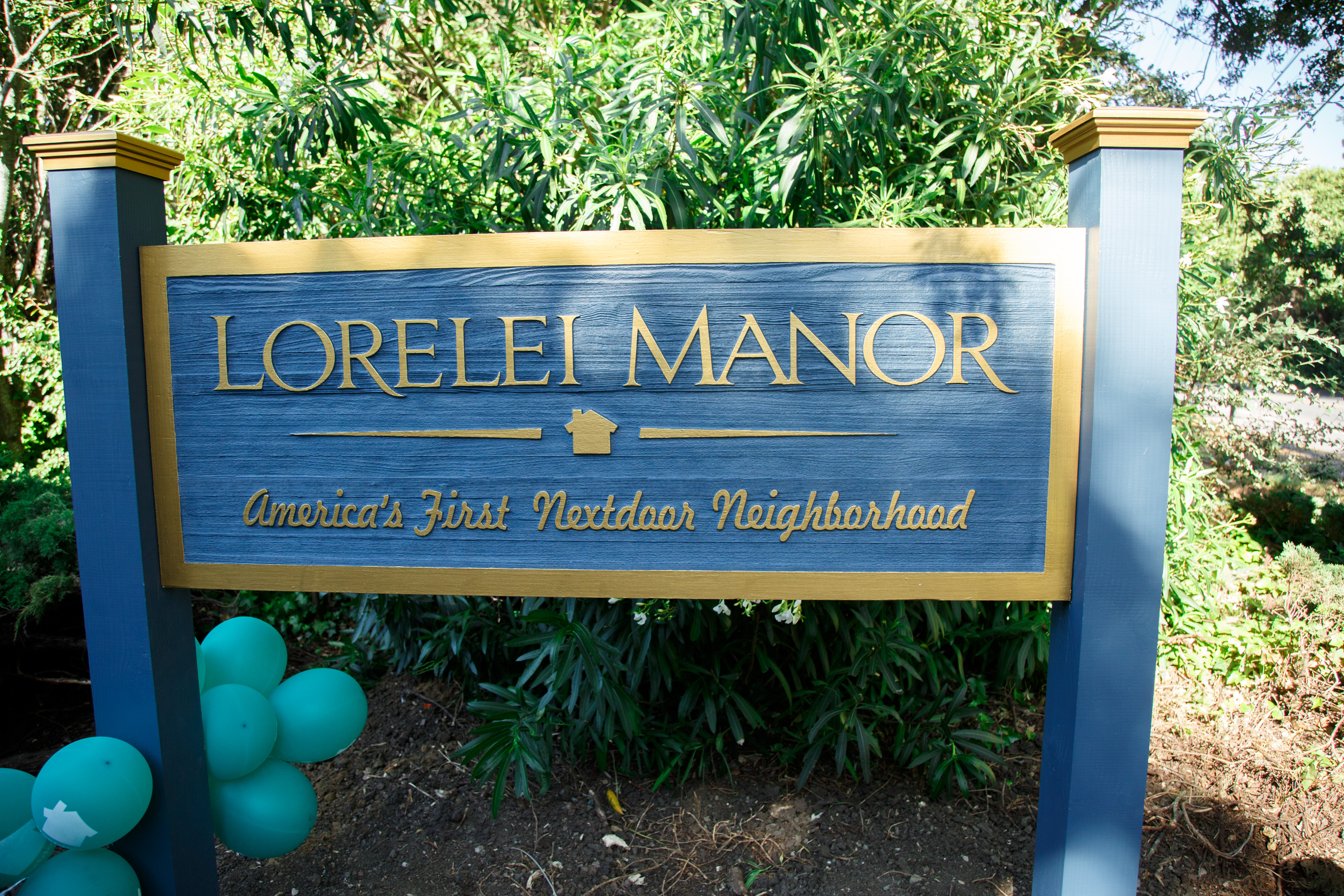 Social network Nextdoor celebrated 150,000 neighborhoods by hosting an event at its first neighborhood, Lorelei in Menlo Park, Calif.