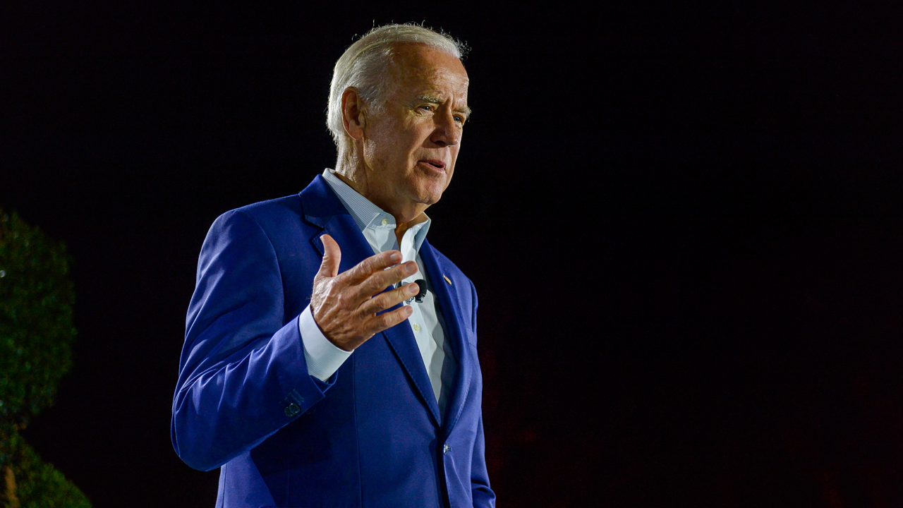 Joe Biden speaks at Fortune Brainstorm Health